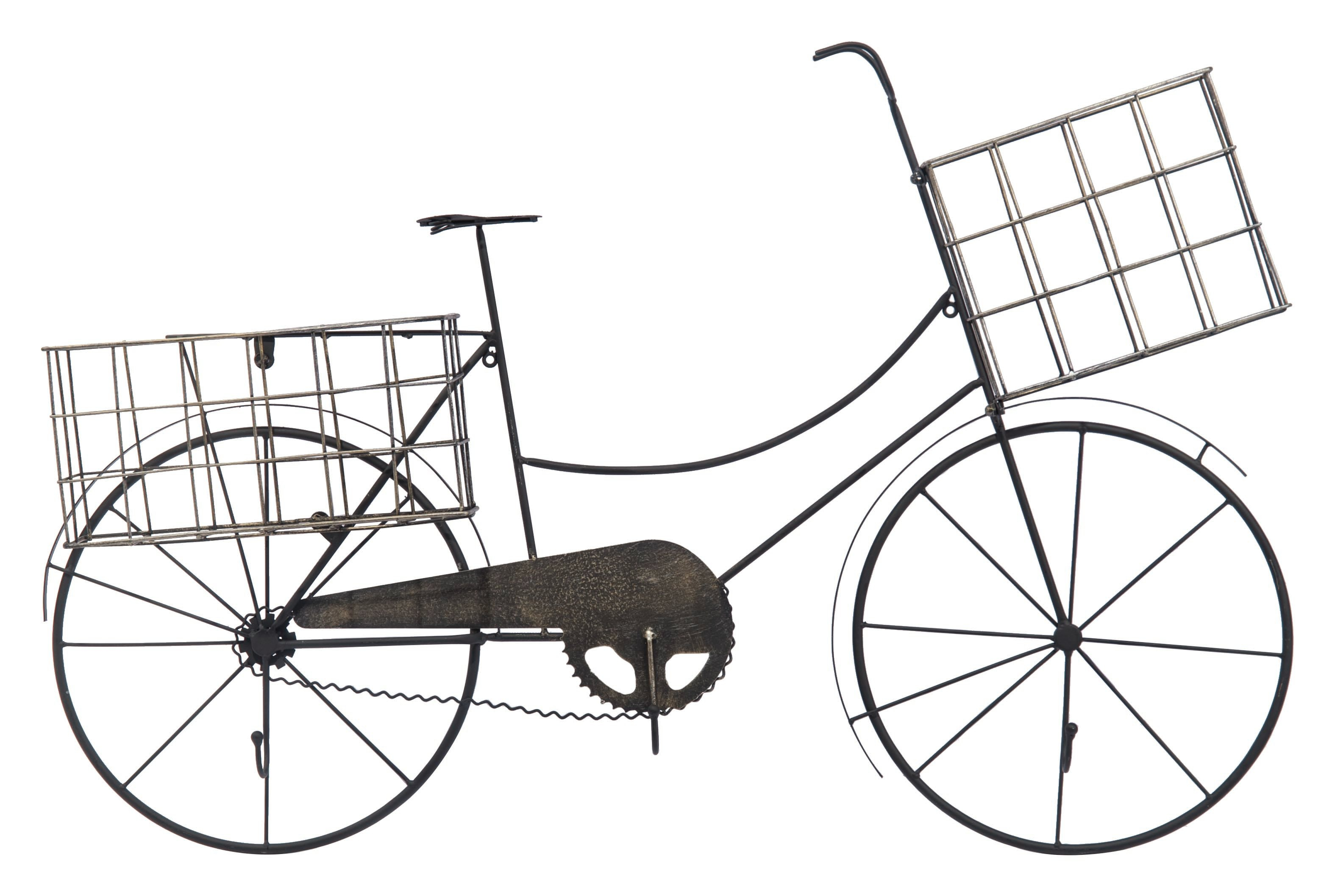Bicycle Wall Sculpture | Wayfair Intended For Bike Wall Decor By August Grove (View 22 of 30)