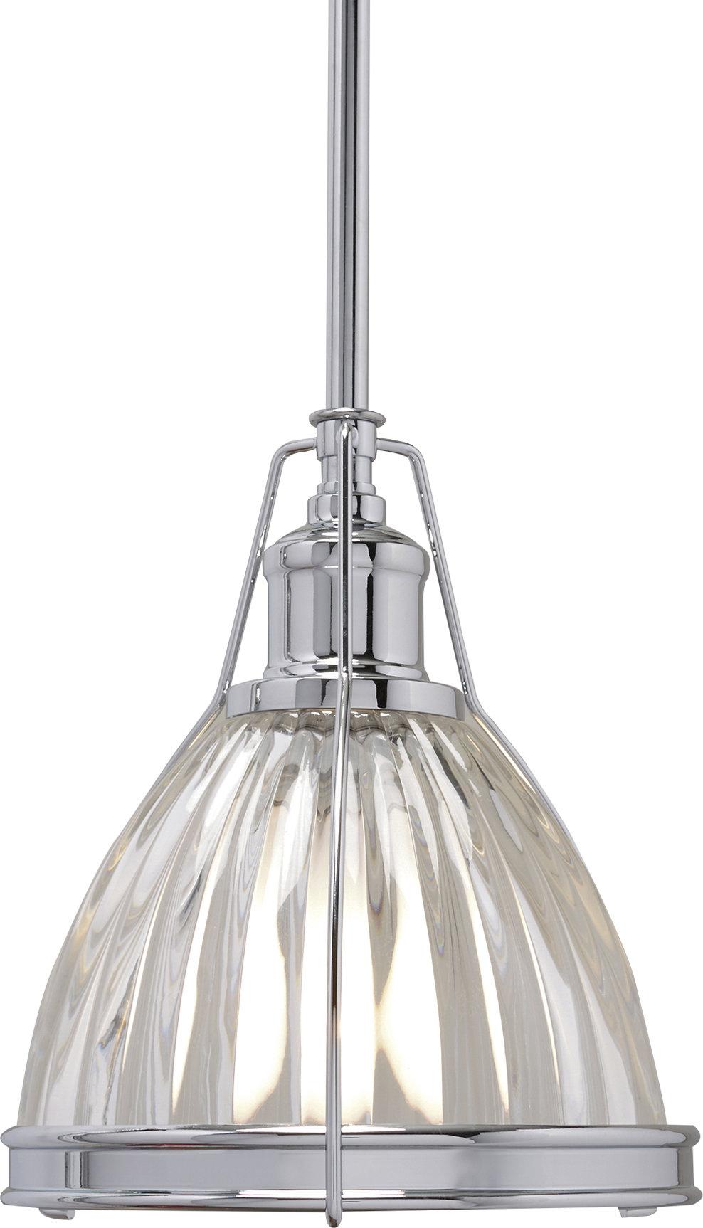 Birch Lane™ Heritage 1 Light Single Bell Pendant Within Carey 1 Light Single Bell Pendants (View 4 of 30)