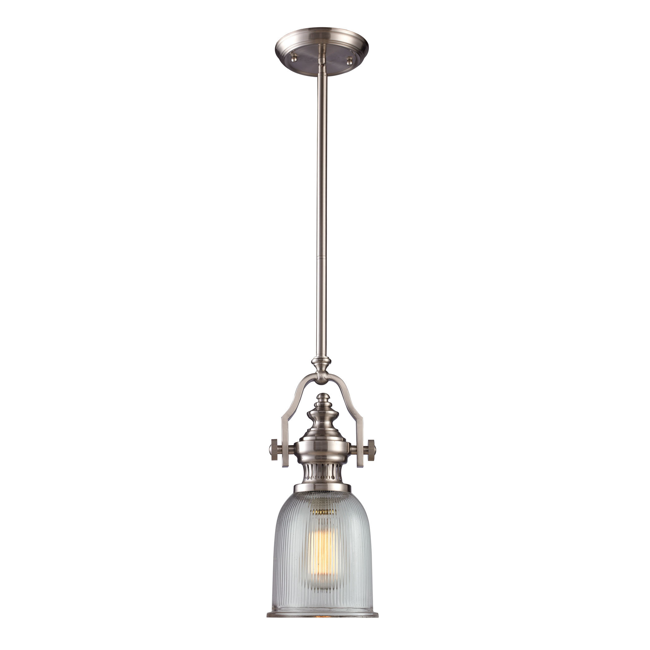 Birch Lane™ Heritage Erico 1 Light Single Bell Pendant Within Sargent 1 Light Single Bell Pendants (View 7 of 30)