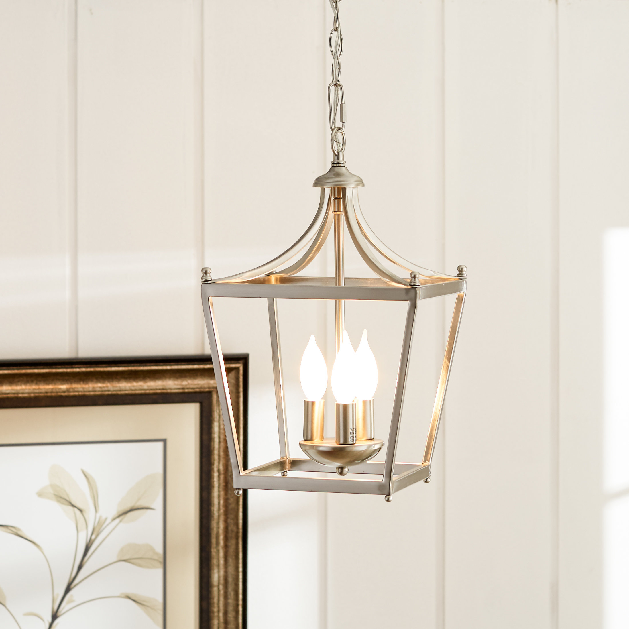 Birch Lane™ Heritage Gabriella 3 Light Lantern Chandelier Throughout Gabriella 3 Light Lantern Chandeliers (View 2 of 30)