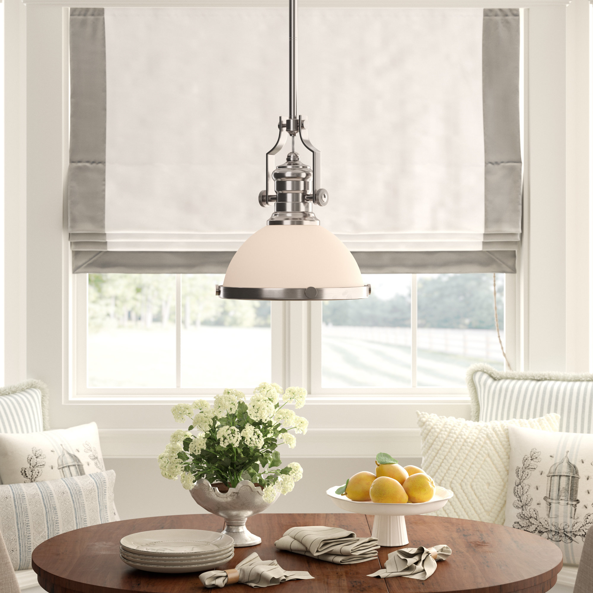 Birch Lane Proctor 1 Light Bowl Pendant & Reviews | Wayfair (View 3 of 30)