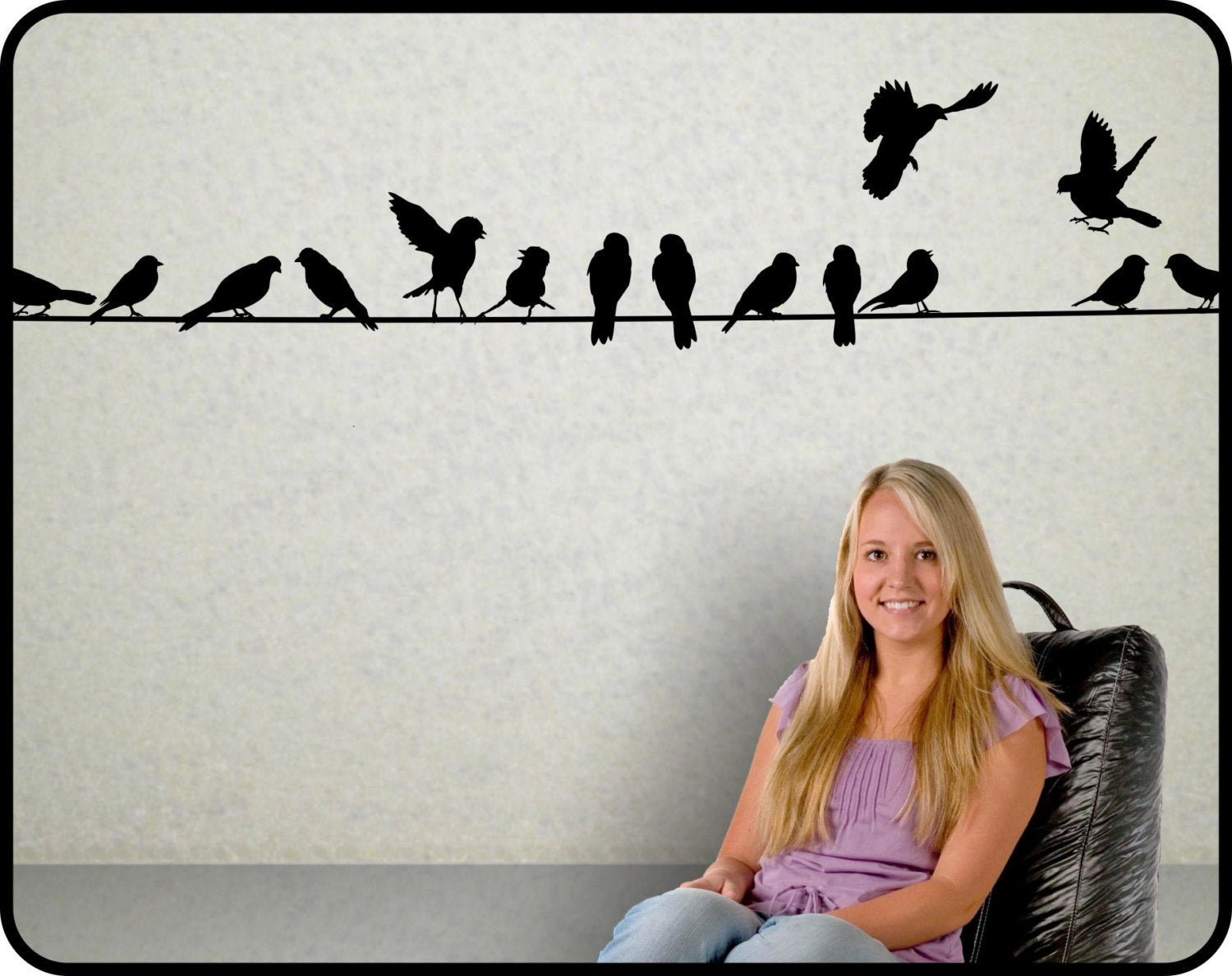 Featured Photo of Birds On A Wire Wall Decor
