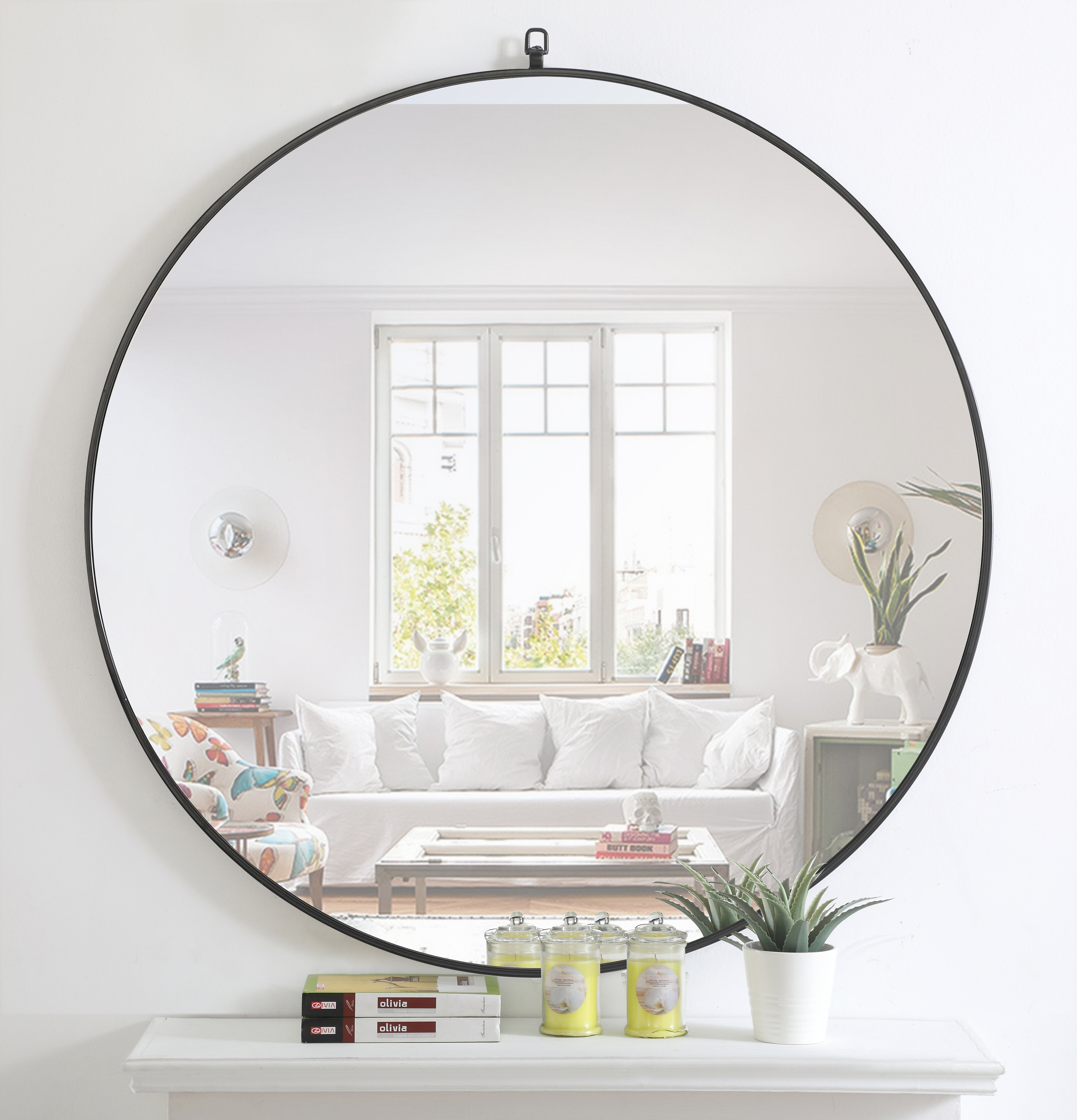 Black & Copper Mirrors You'll Love In 2019 | Wayfair for Yedinak Modern Distressed Accent Mirrors (Image 1 of 30)