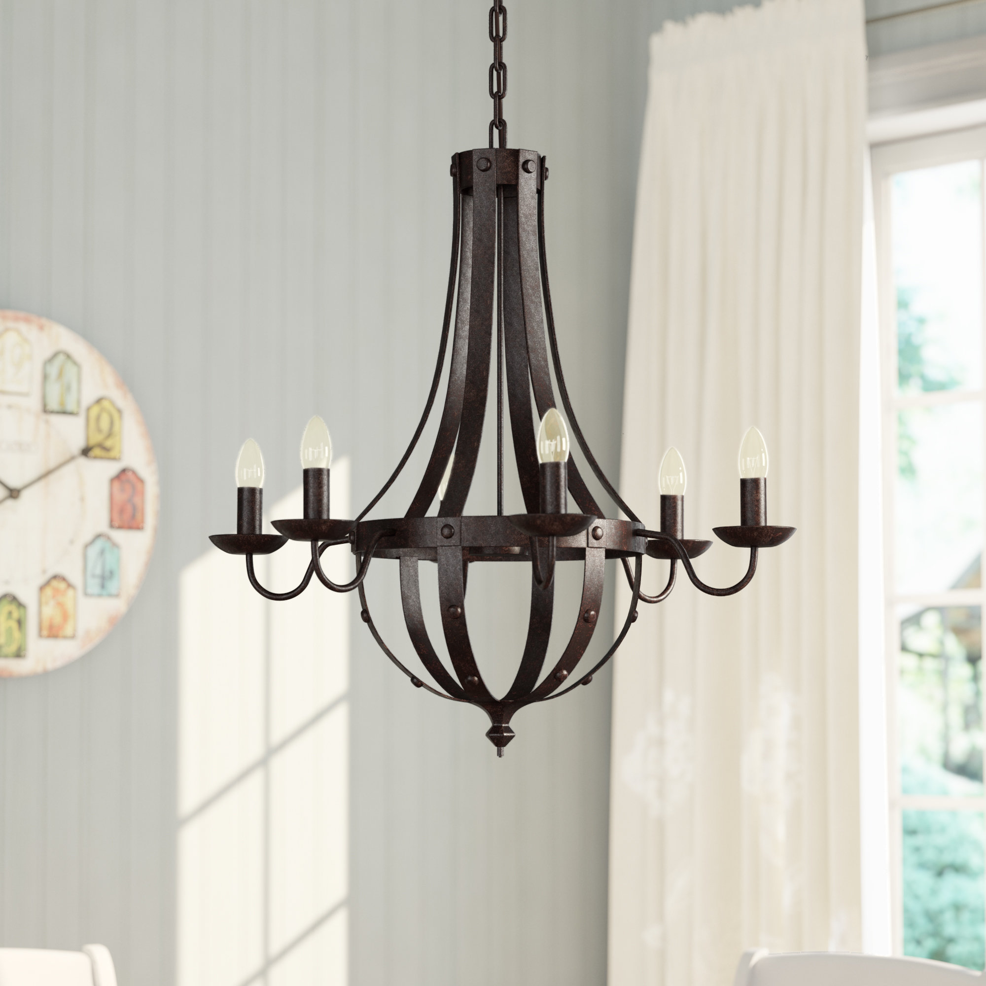 Black Empire Chandeliers You'll Love In 2019 | Wayfair In Kenna 5 Light Empire Chandeliers (View 18 of 30)