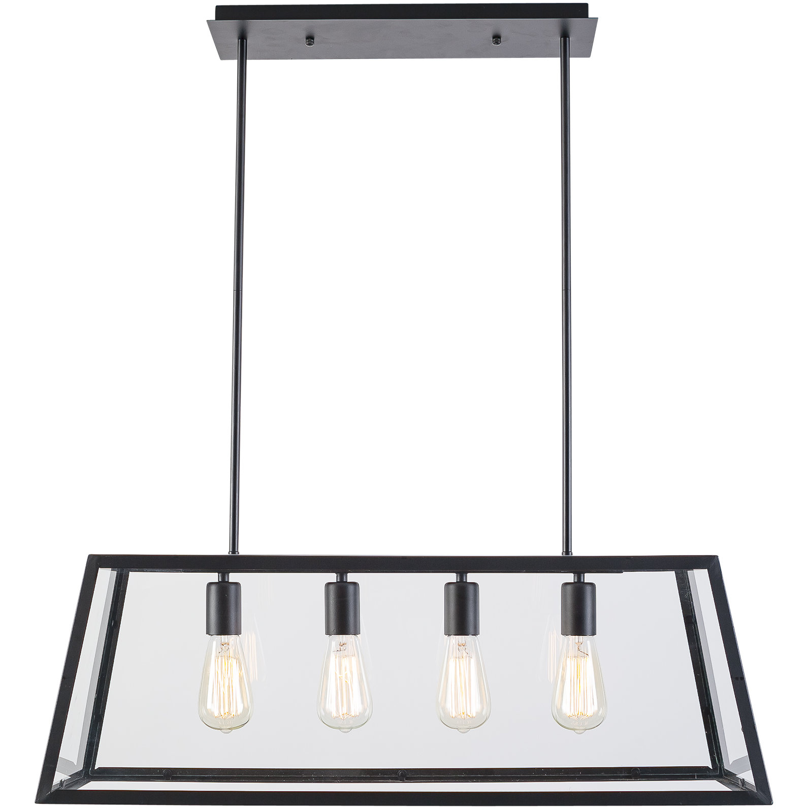 Black Island Lights You'll Love In 2019 | Wayfair for Schutt 4-Light Kitchen Island Pendants (Image 2 of 30)