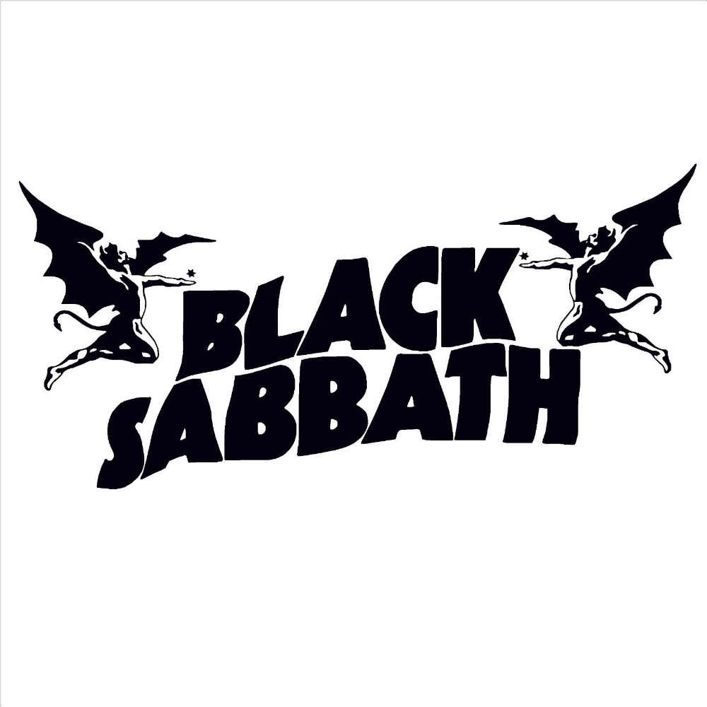 Black Sabbath Ozzy Osbourne Vinyl Wall Stickers Home Decor Living Room Wall  Art Decal Hip Hop Bar Wallpaper Mural D355 intended for Osbourne Wall Decor (Image 3 of 30)