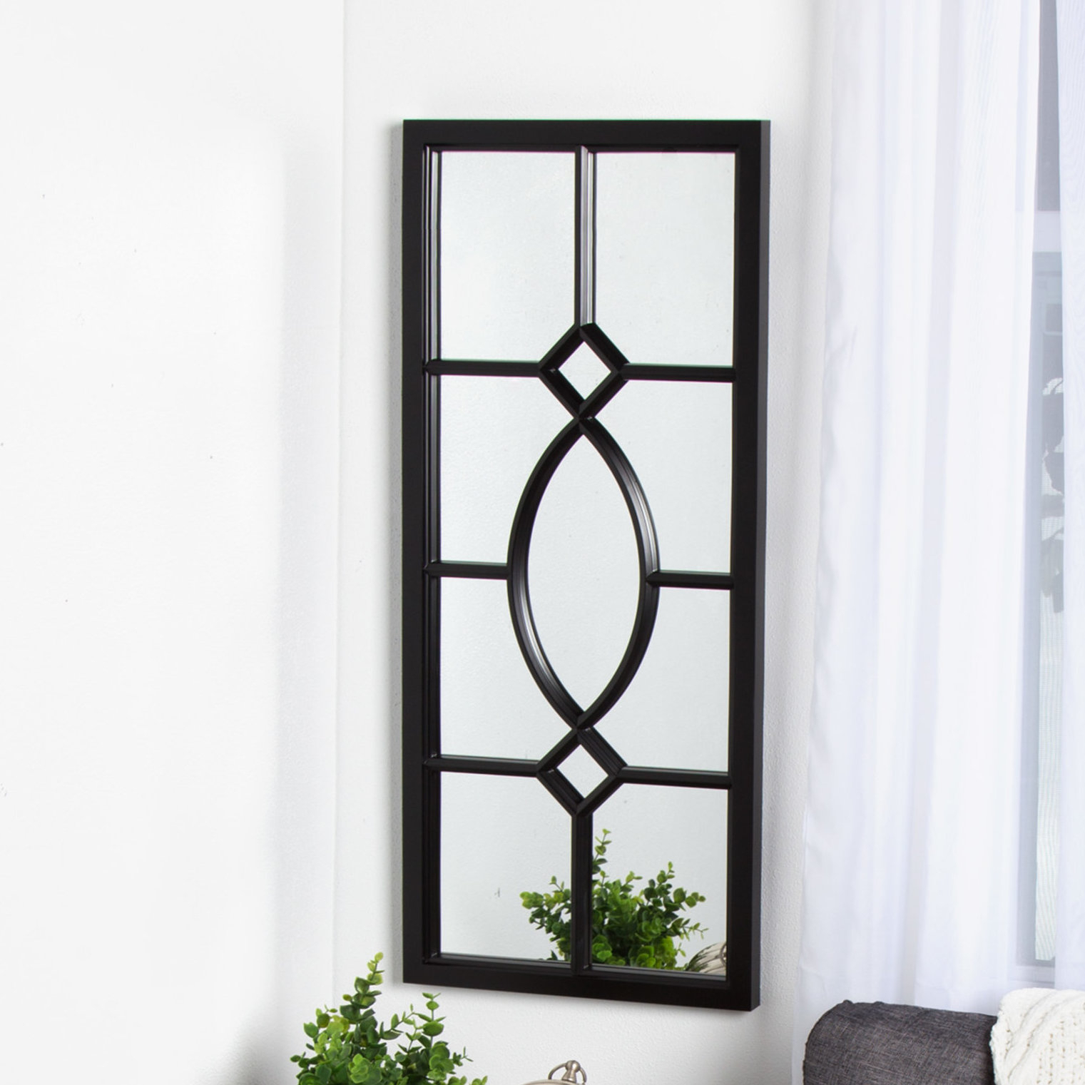 Black Wall Mirrors You'll Love In 2019 | Wayfair In Derick Accent Mirrors (View 9 of 30)