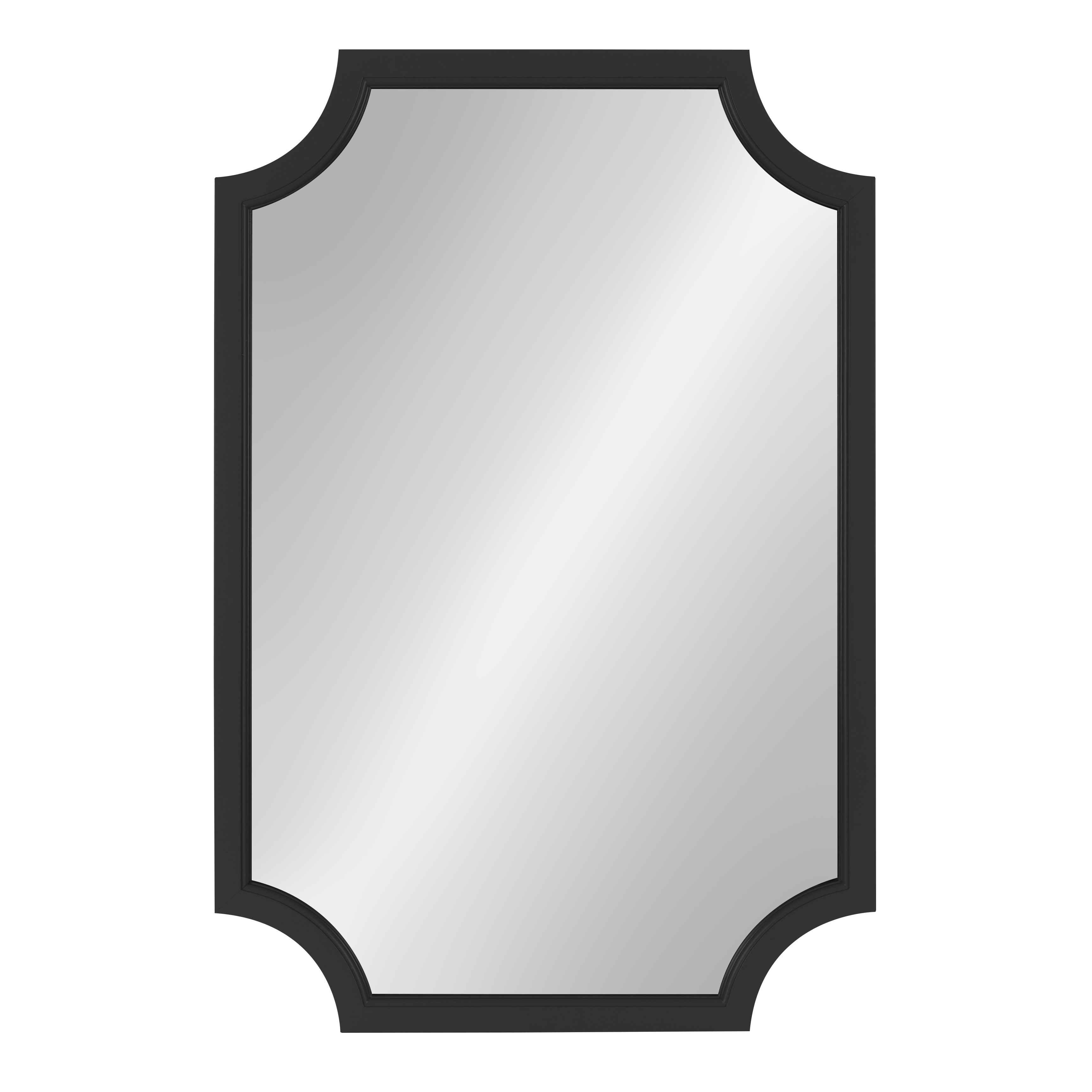 Black Wall Mirrors You'll Love In 2019 | Wayfair Inside Derick Accent Mirrors (View 14 of 30)