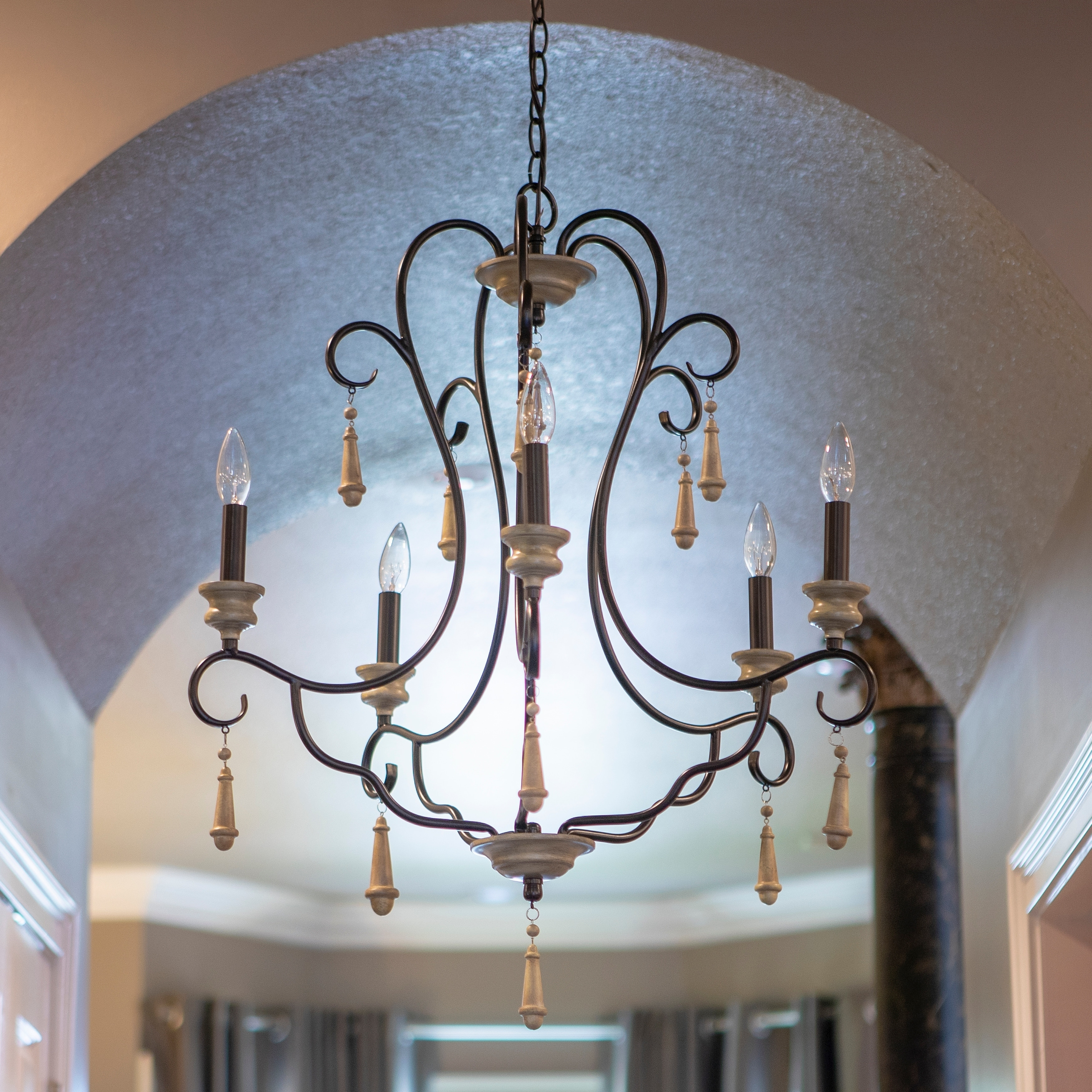 Blakely 5 Light Chandelier In 2019 | Products | Chandelier for Watford 6-Light Candle Style Chandeliers (Image 4 of 30)