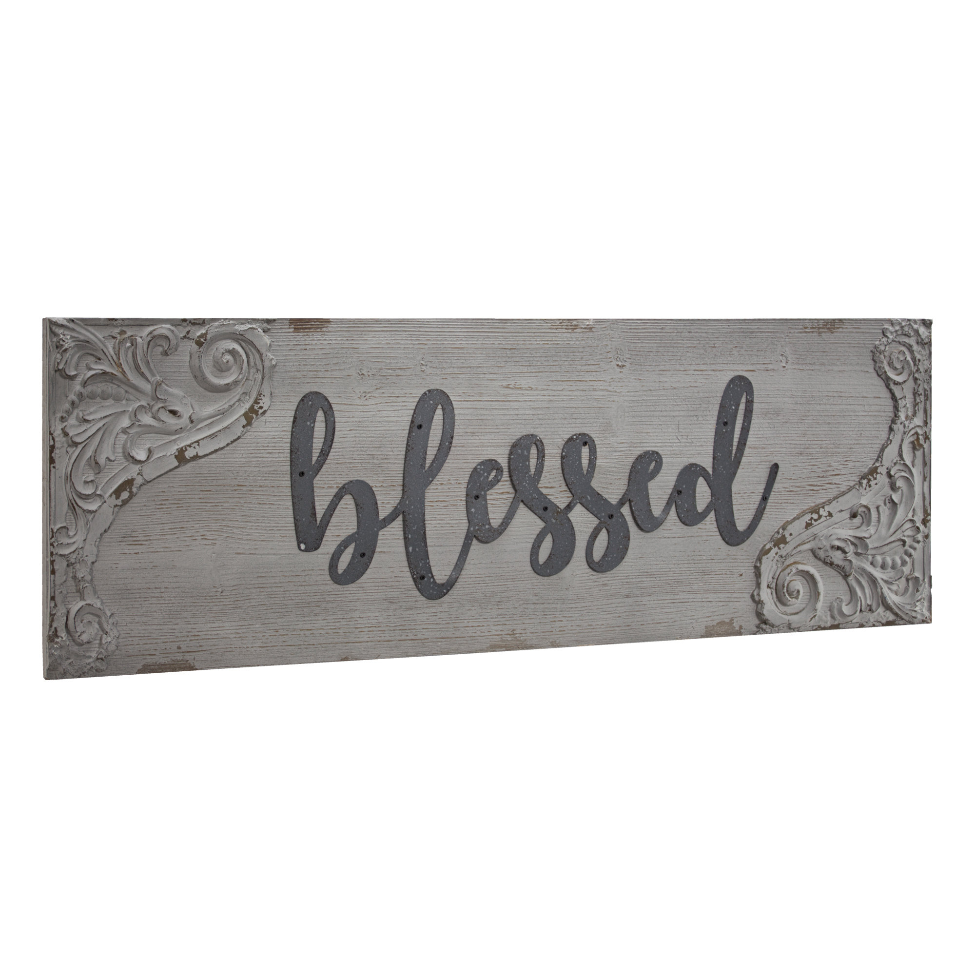 Blessed Sign   Wayfair With Regard To Blessed Steel Wall Decor (View 7 of 30)