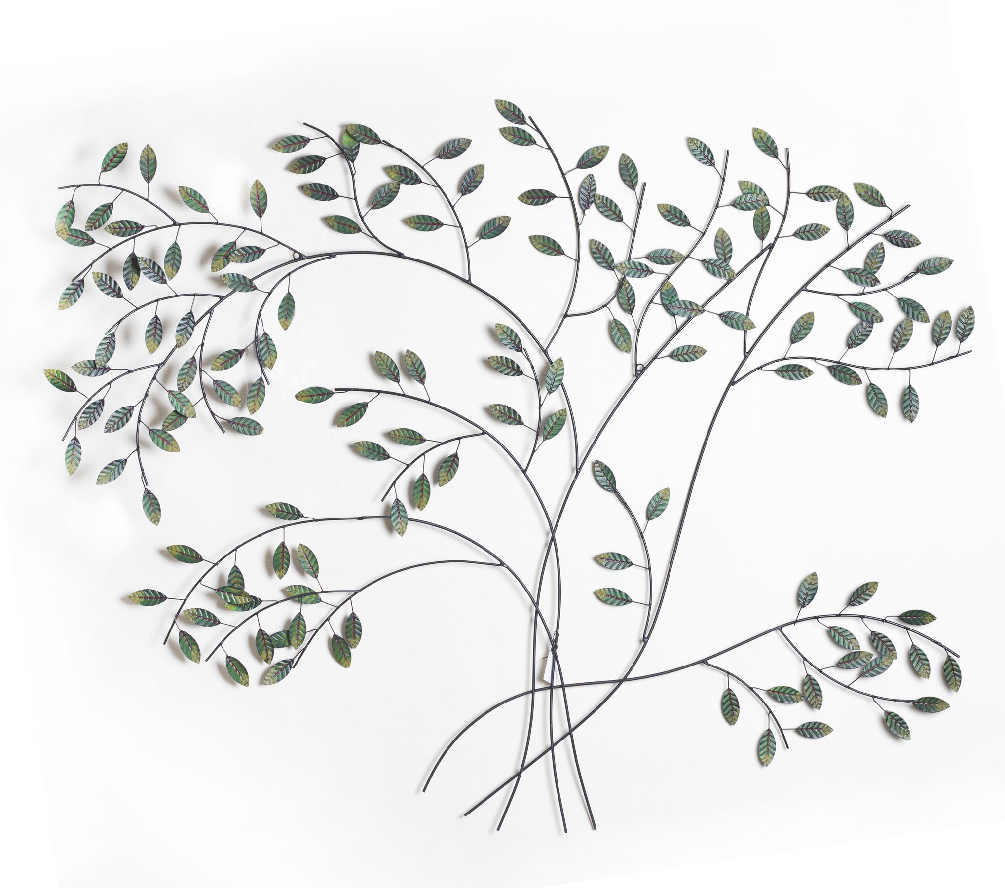 Bloom - Contemporary Metal Wall Art | Metal Wall Art throughout Desford Leaf Wall Decor (Image 2 of 30)