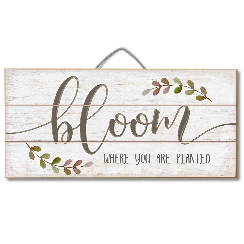 Bloom Wall Décor Regarding Fawcett Thankful Heart Wall Decor (View 7 of 30)