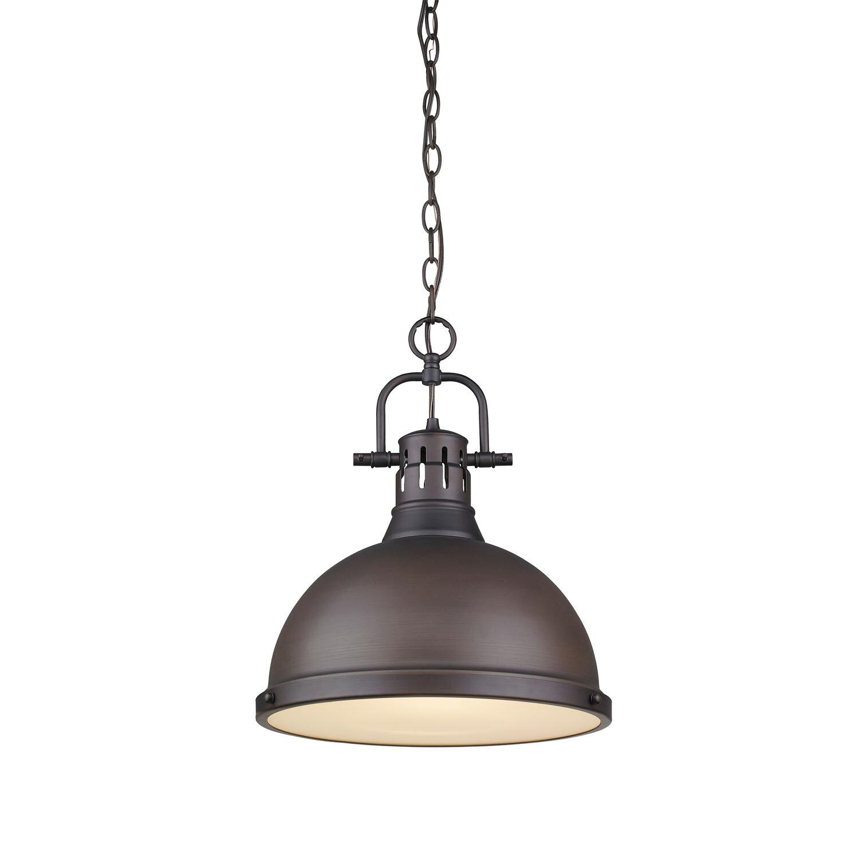 Bodalla 1 Light Dome Pendant Regarding Mueller 1 Light Single Dome Pendants (View 8 of 30)