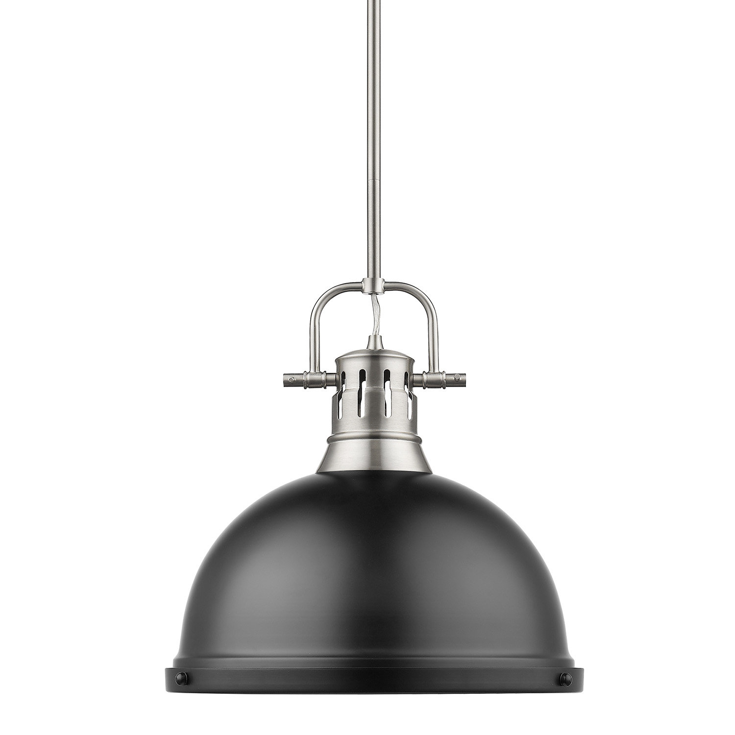 Bodalla 1-Light Single Dome Pendant for 1-Light Single Dome Pendants (Image 5 of 30)