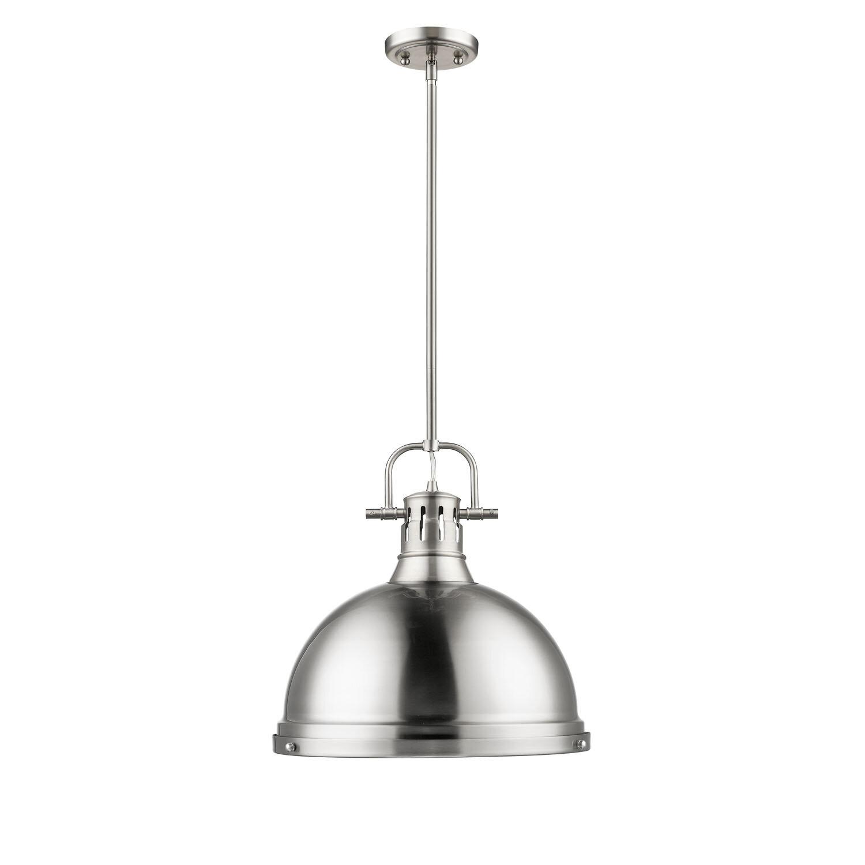 Bodalla 1 Light Single Dome Pendant & Reviews | Birch Lane Inside Bodalla 1 Light Single Dome Pendants (View 4 of 30)