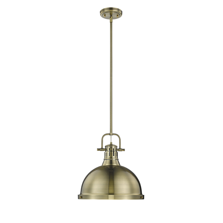 Bodalla 1-Light Single Dome Pendant with Southlake 1-Light Single Dome Pendants (Image 7 of 30)