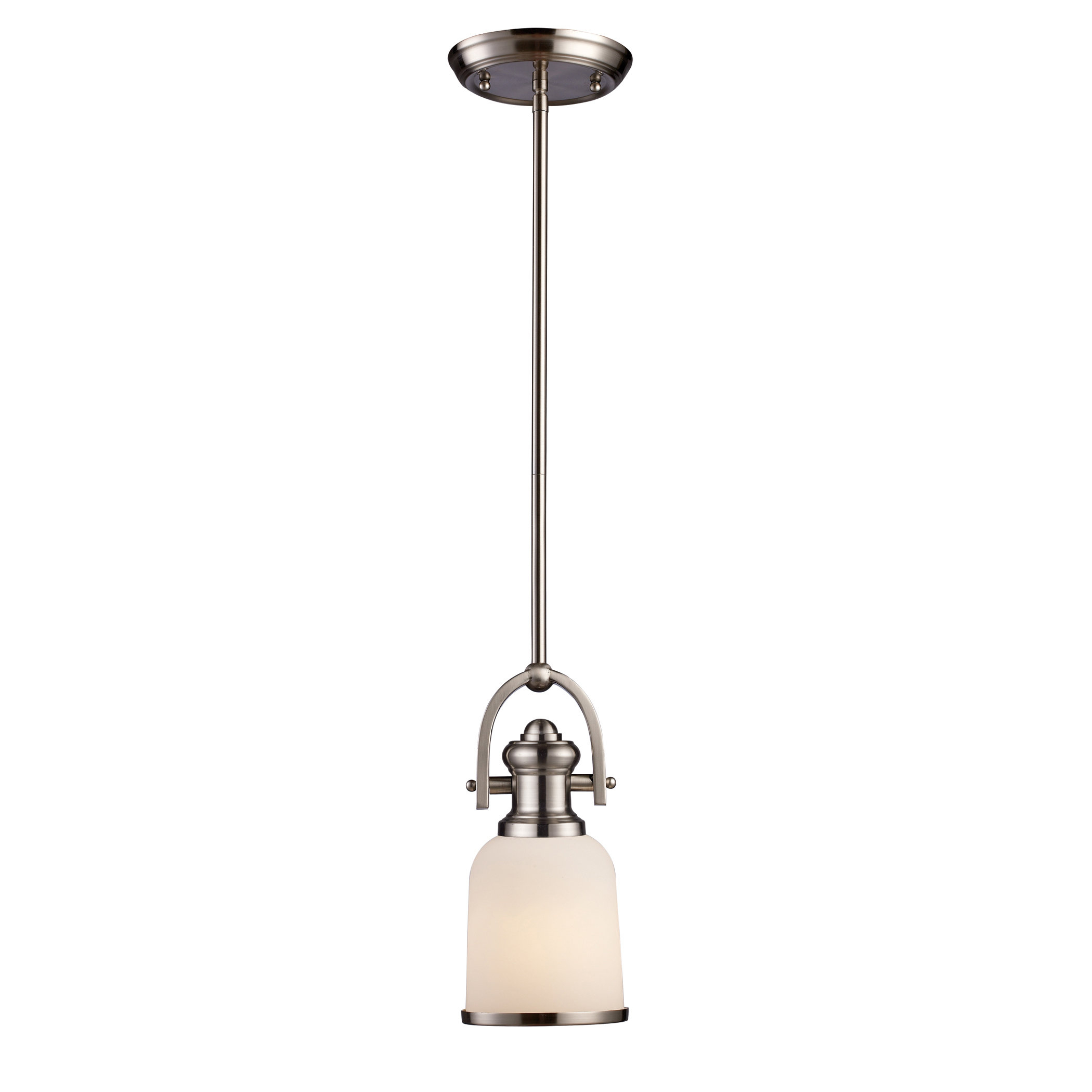 Boornazian 1 Light Cone Pendant For Abernathy 1 Light Dome Pendants (Image 9 of 30)