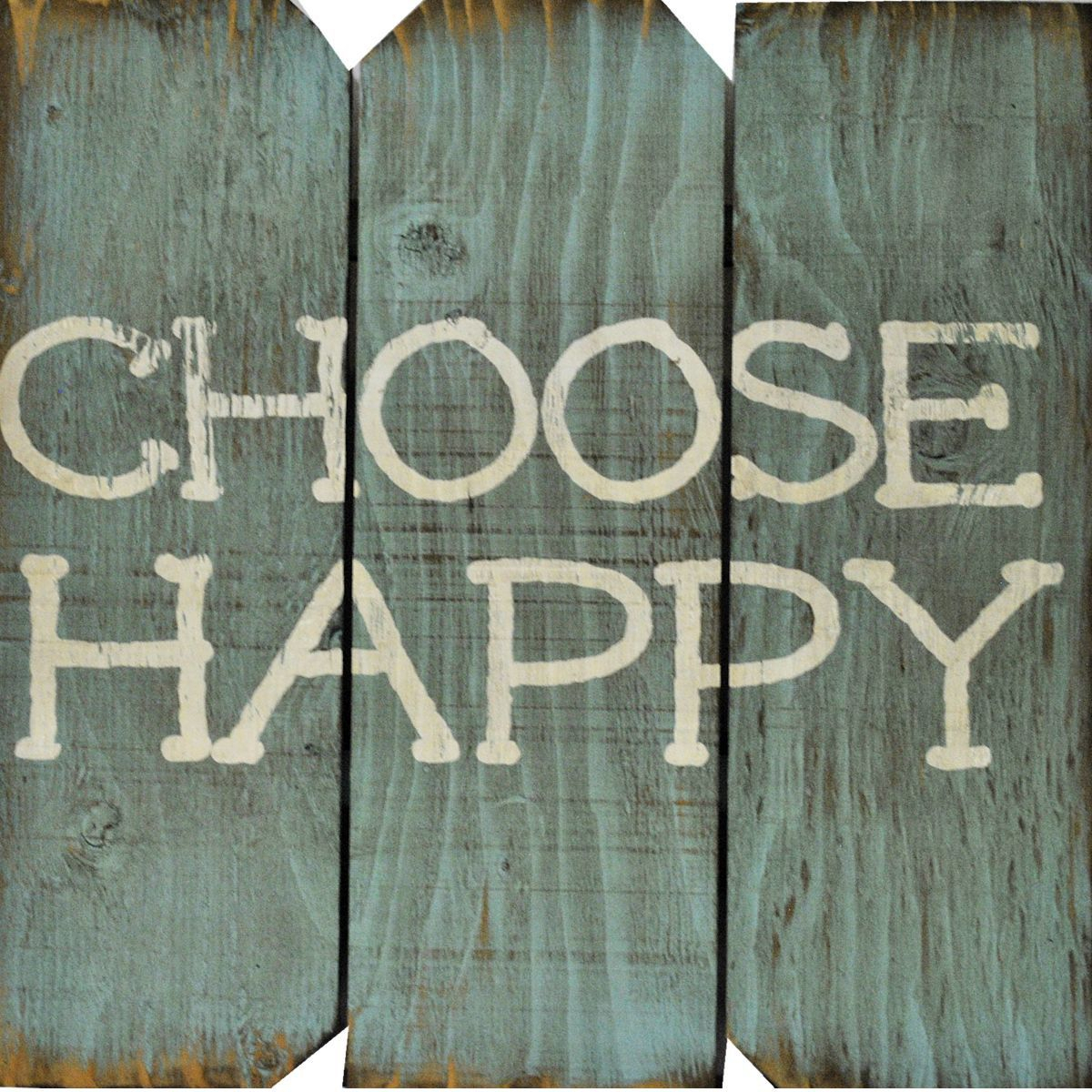 Boulder Innovations Choose Happy Wall Décor | Home Design with regard to Choose Happy Wood Wall Decor (Image 7 of 30)