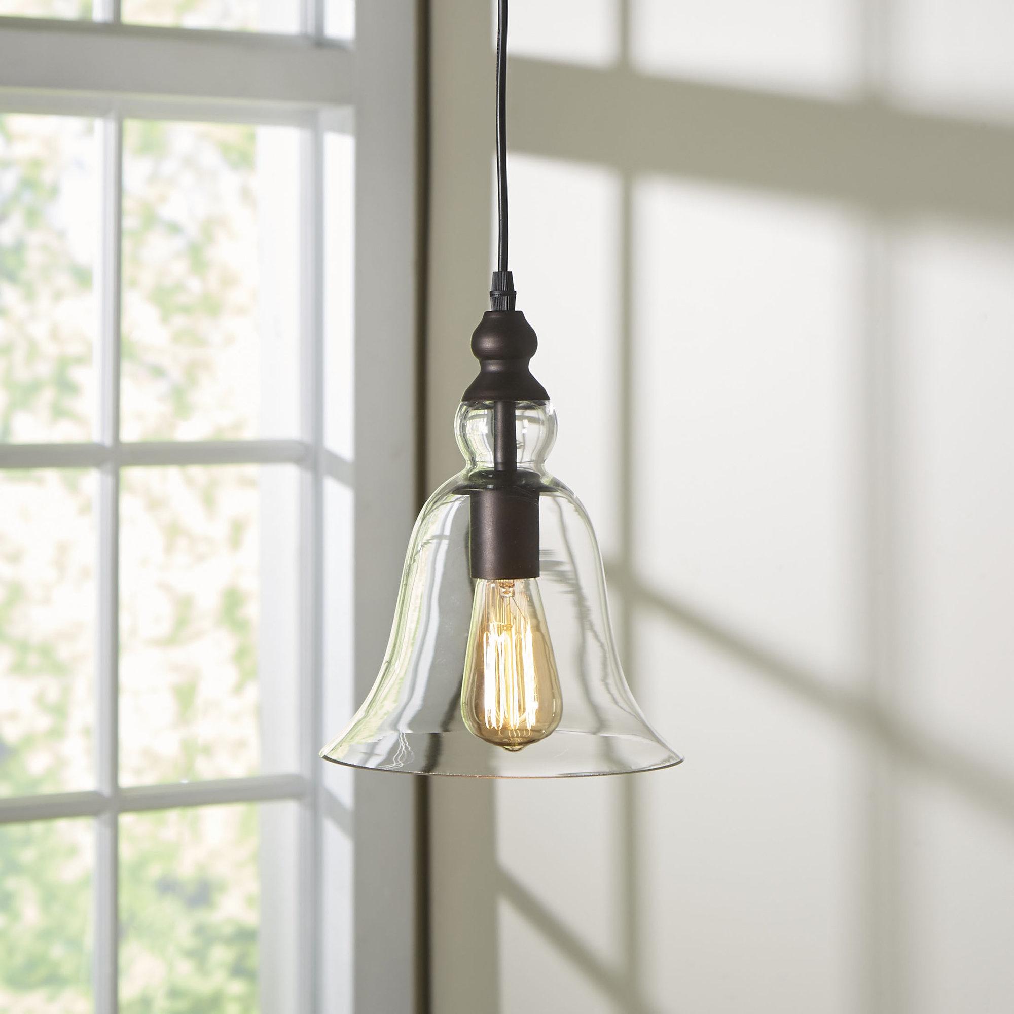 Bouvet 1 Light Bell Pendant In Carey 1 Light Single Bell Pendants (View 6 of 30)