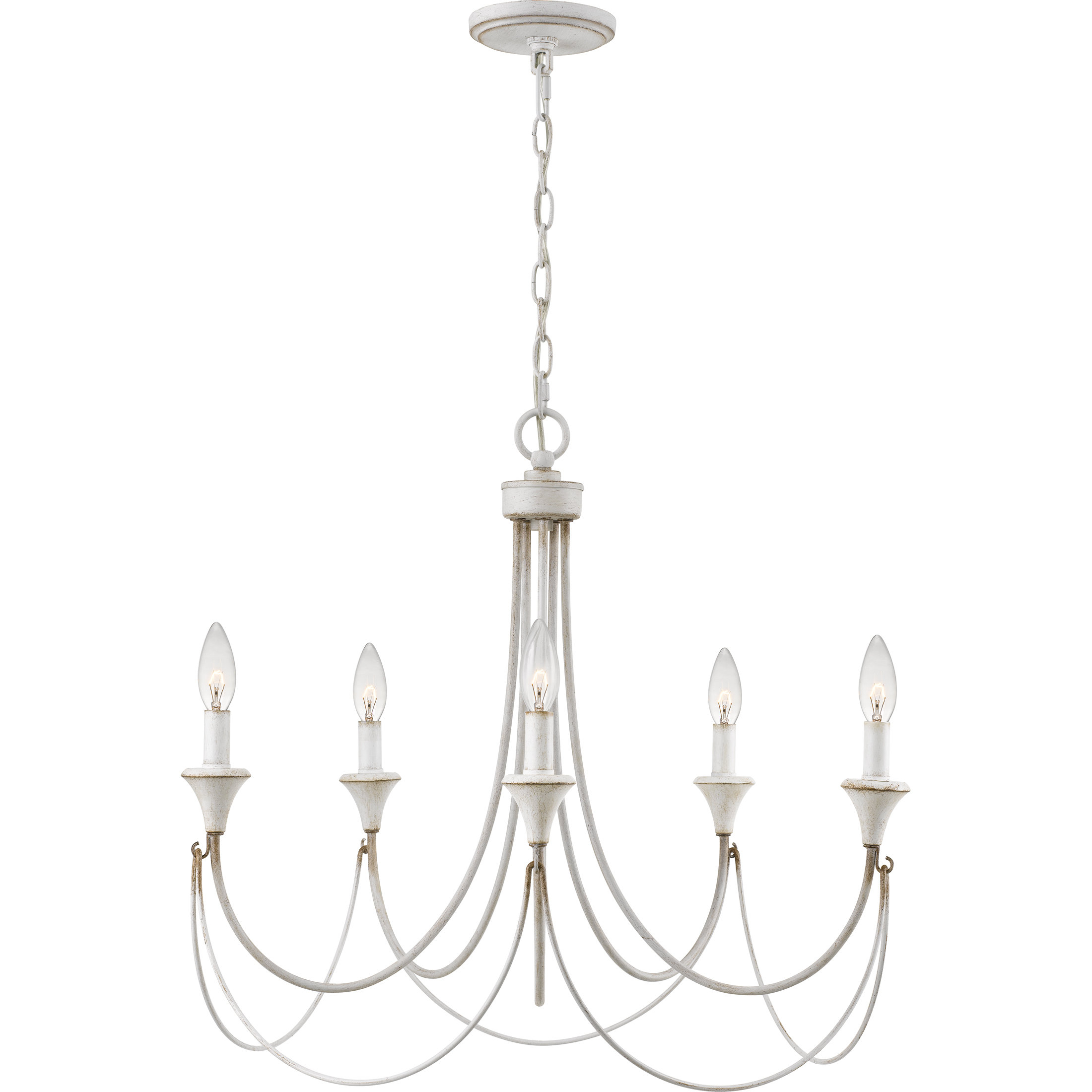 Breakwater Bay Walczak 5-Light Chandelier with Corneau 5-Light Chandeliers (Image 9 of 30)