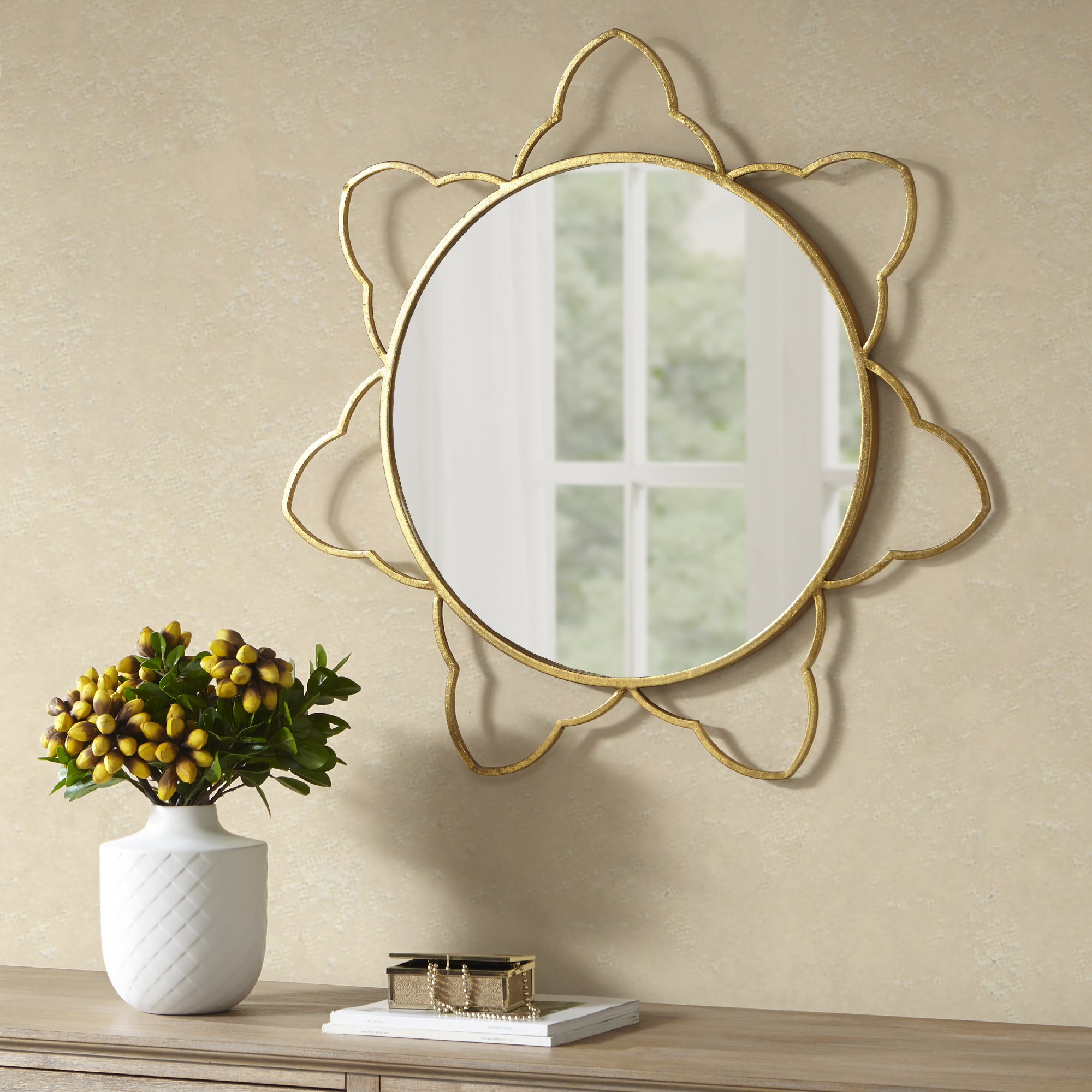 Broadridge Accent Mirror Within Newtown Accent Mirrors (View 16 of 30)