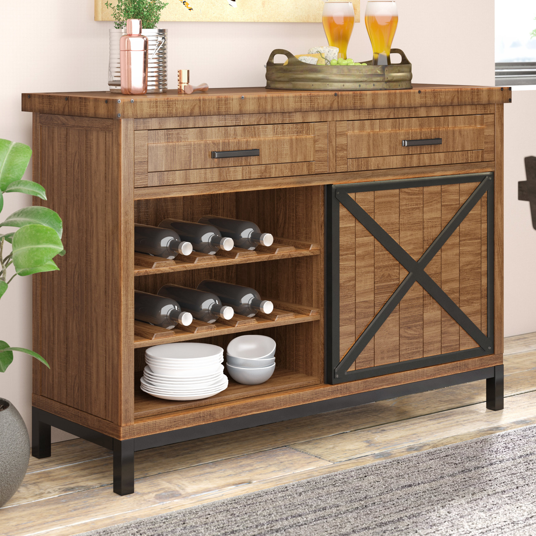 Bronze Sideboards & Buffets You'll Love In 2019 | Wayfair intended for Chaffins Sideboards (Image 10 of 30)