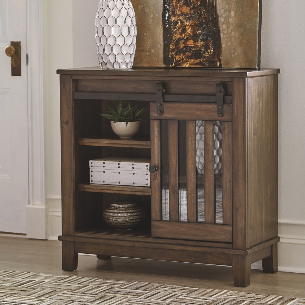 Brookport - Brown - Accent Cabinet | A4000130 | Accent within Eau Claire 6 Door Accent Cabinets (Image 2 of 30)