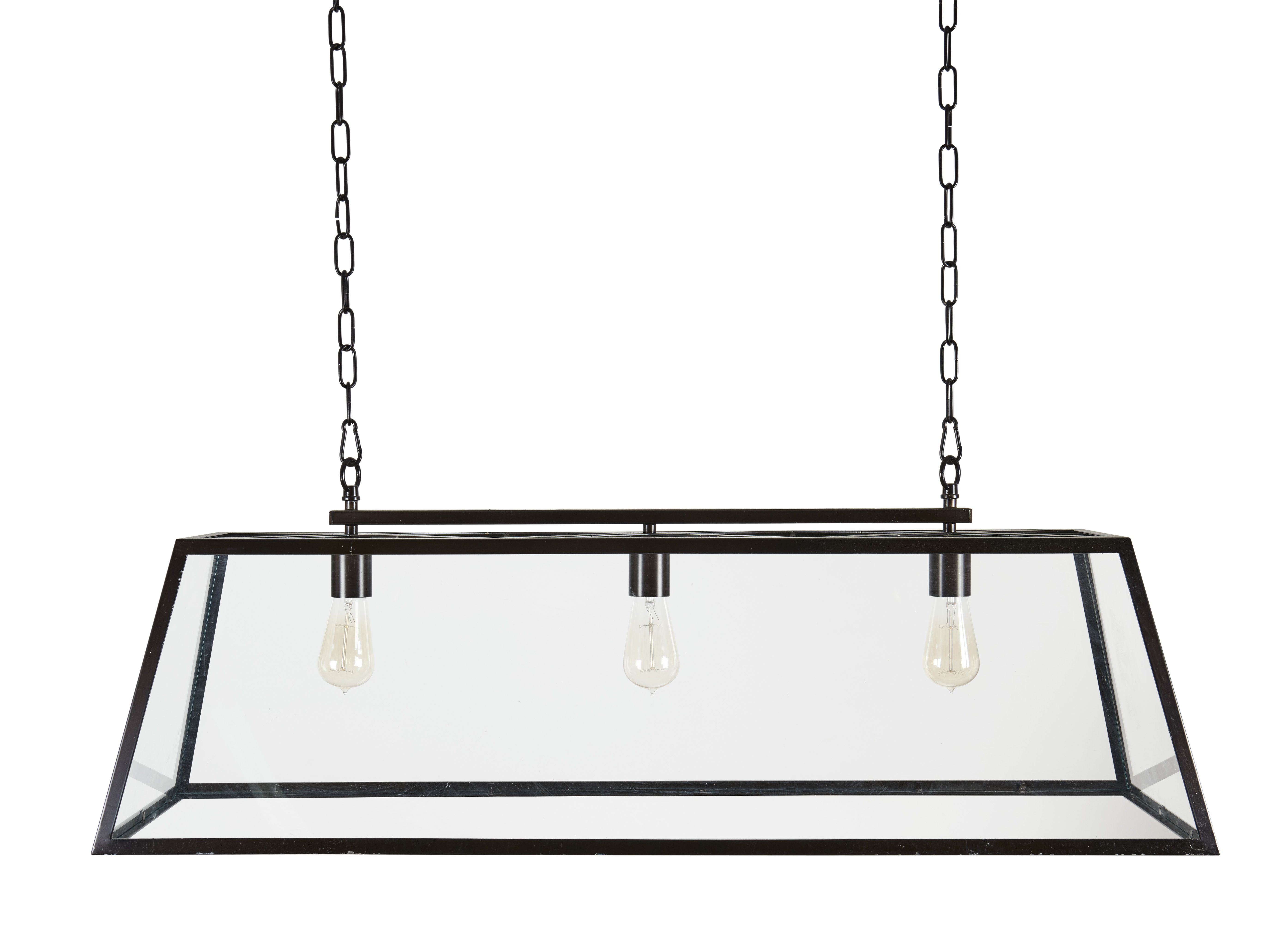 Browning 3 Bulb Lantern Pendant | Hall Way Ideas Clonmore In regarding Odie 8-Light Lantern Square / Rectangle Pendants (Image 2 of 30)