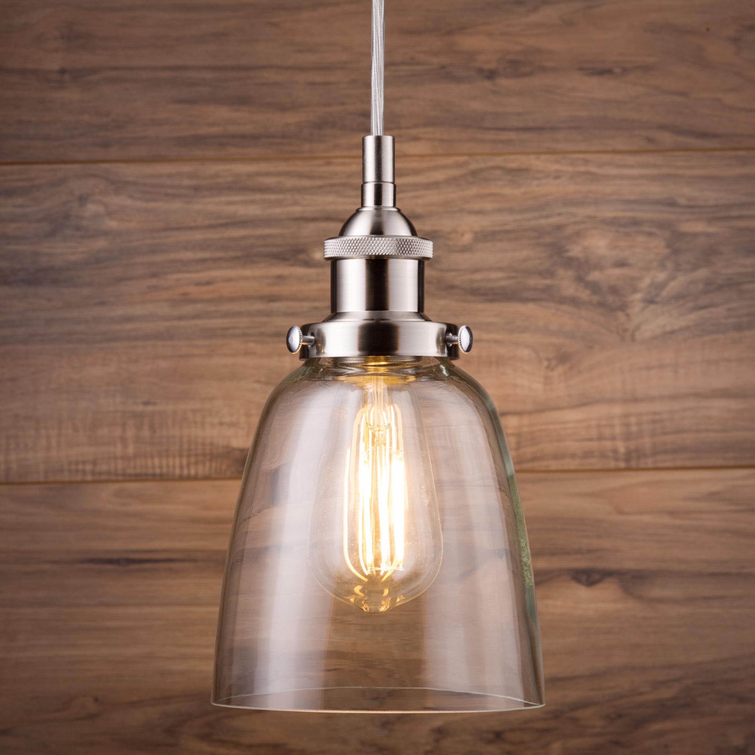 Bundaberg 1 Light Single Bell Pendant For Houon 1 Light Cone Bell Pendants (View 12 of 30)
