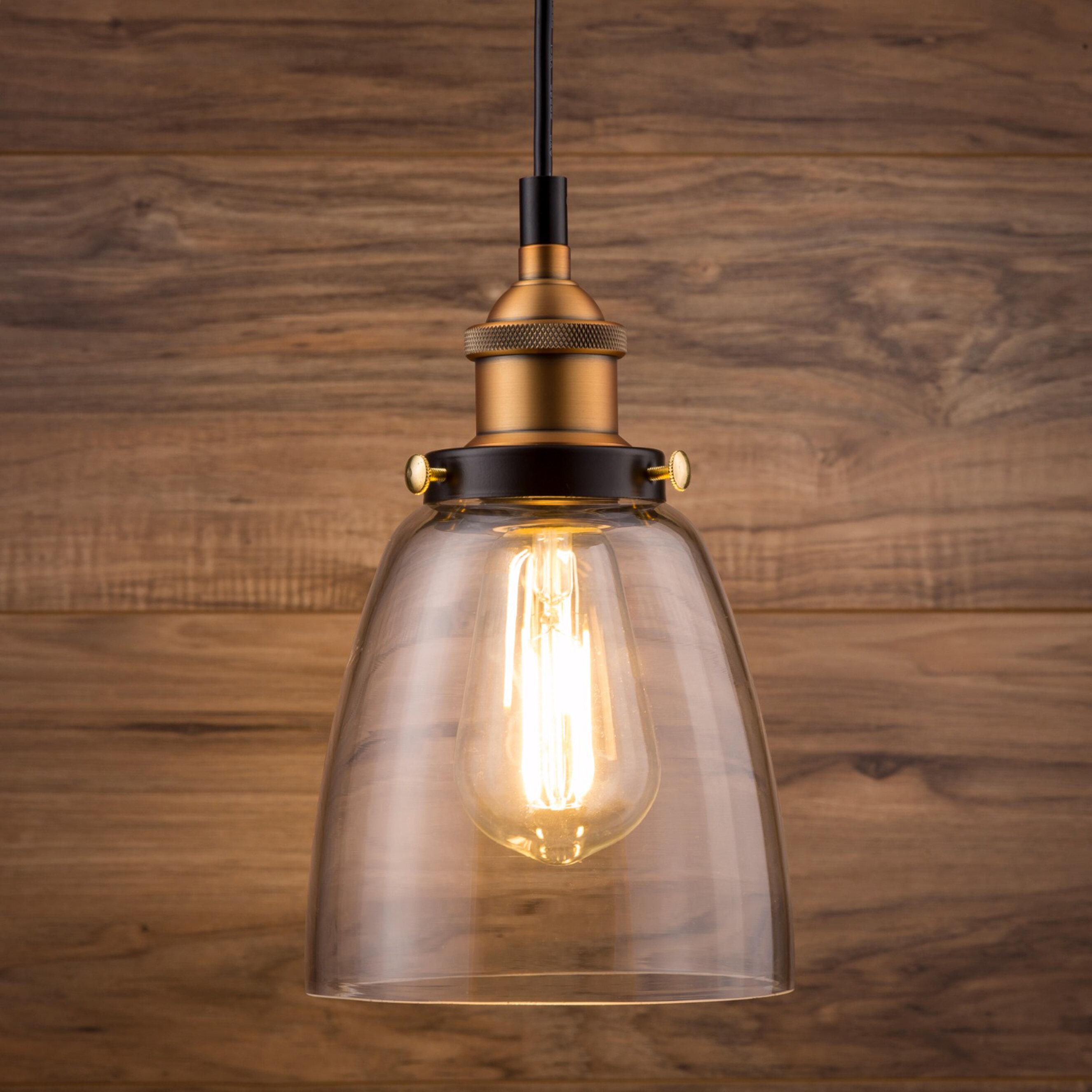 Bundaberg 1 Light Single Bell Pendant Intended For Houon 1 Light Cone Bell Pendants (View 19 of 30)