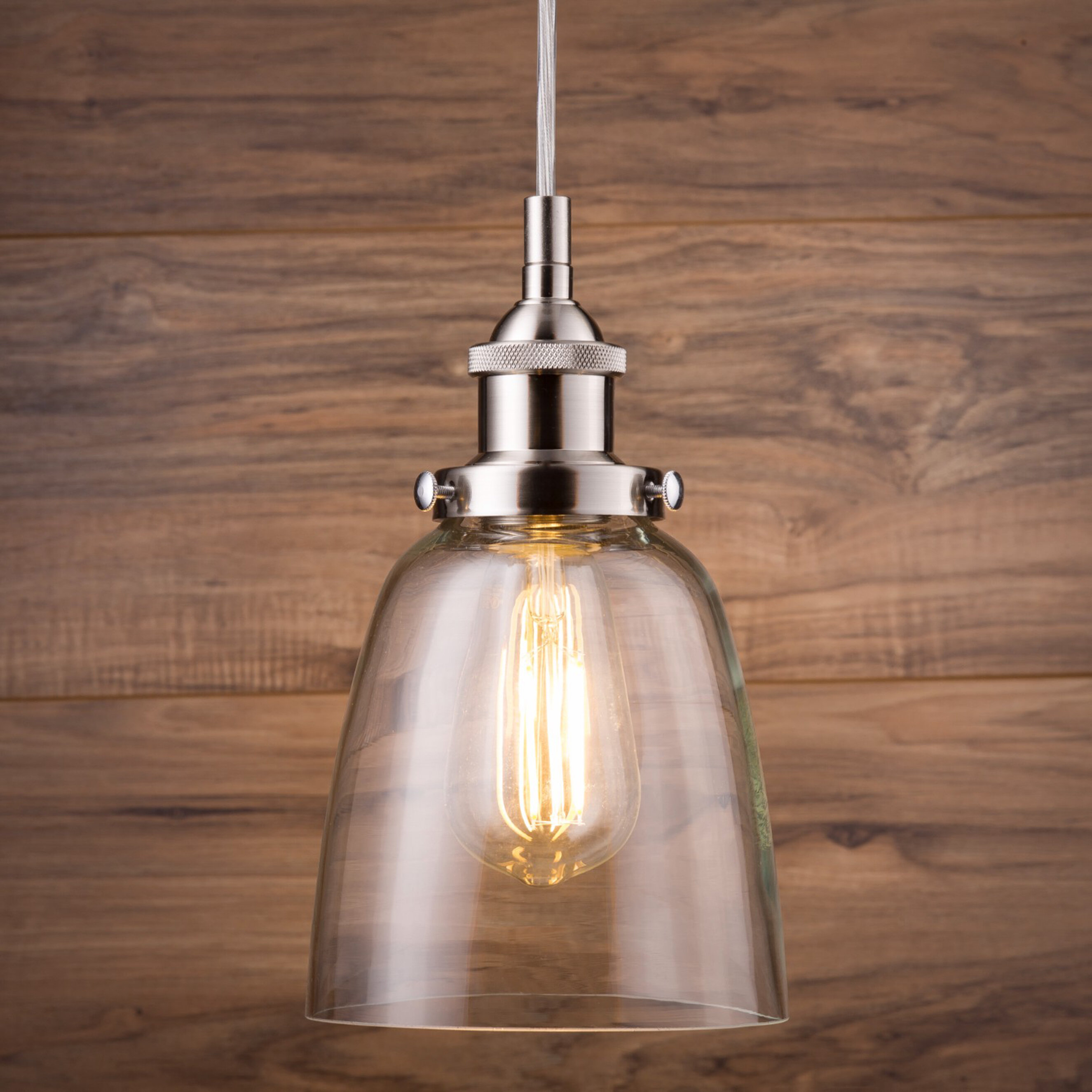 Bundaberg 1 Light Single Bell Pendant Regarding Scruggs 1 Light Geometric Pendants (View 4 of 30)