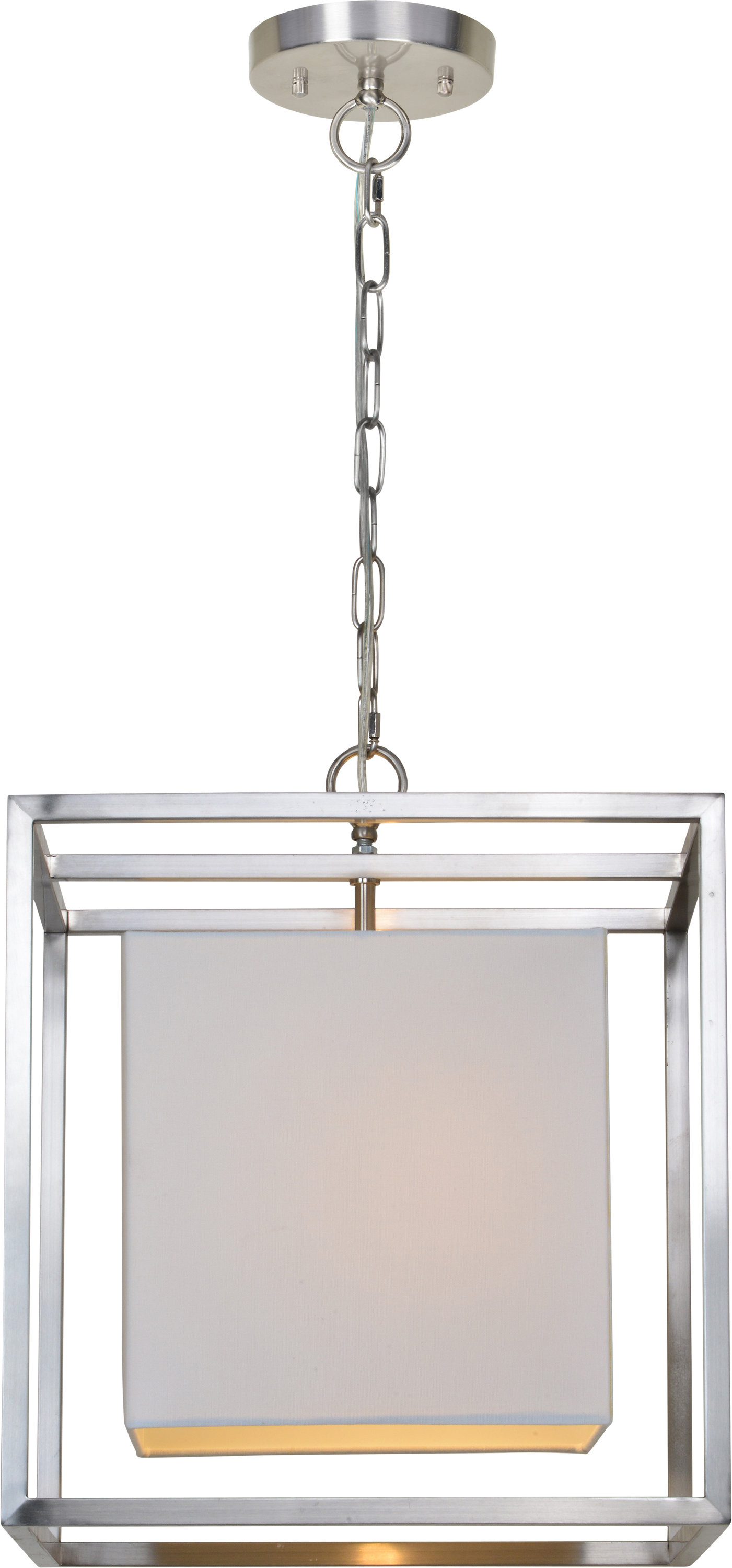 Bunnell 1 Light Single Square Pendant Within Akash Industrial Vintage 1 Light Geometric Pendants (View 5 of 30)