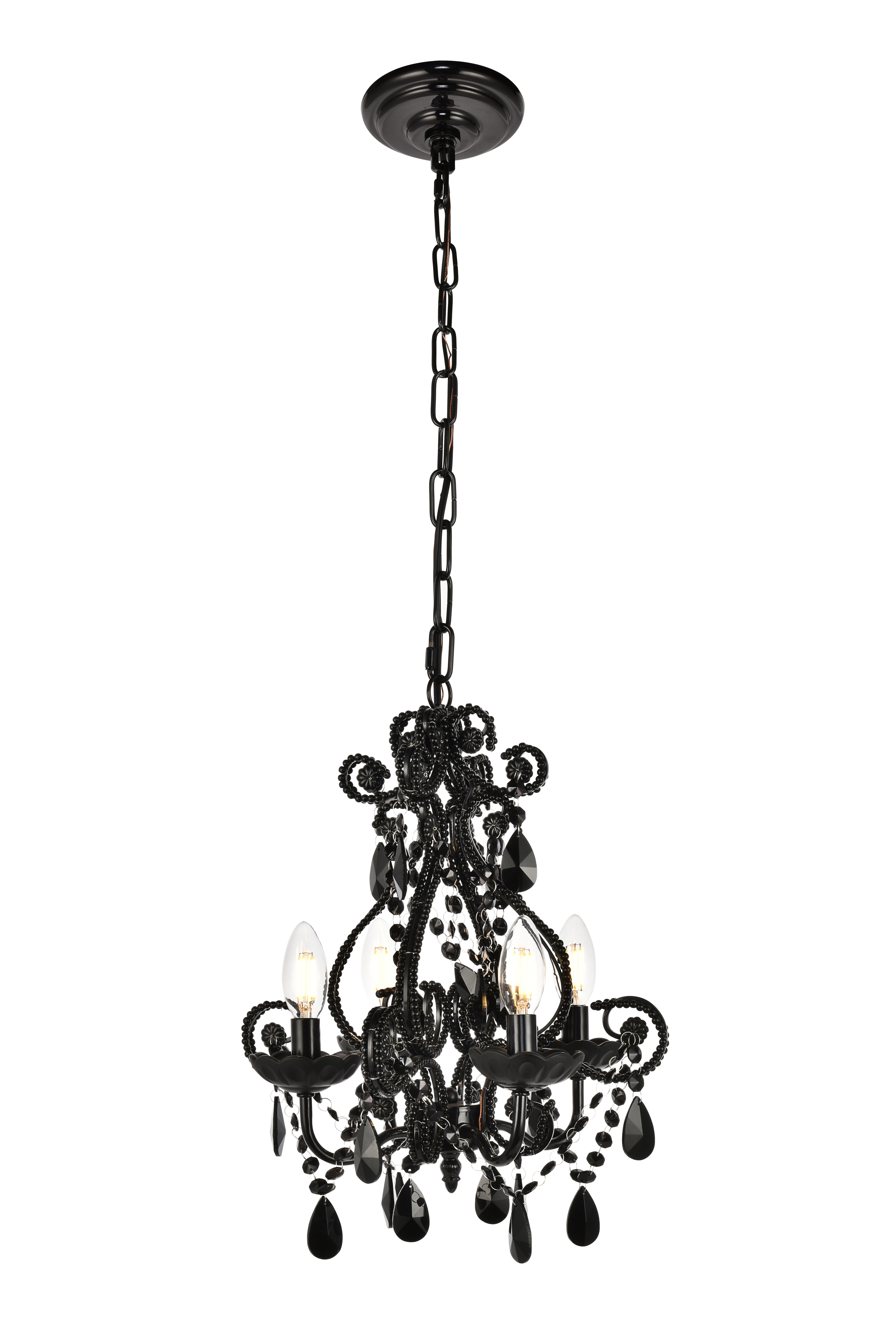 Burcott 4 Light Candle Style Chandelier Regarding Aldora 4 Light Candle Style Chandeliers (View 7 of 30)