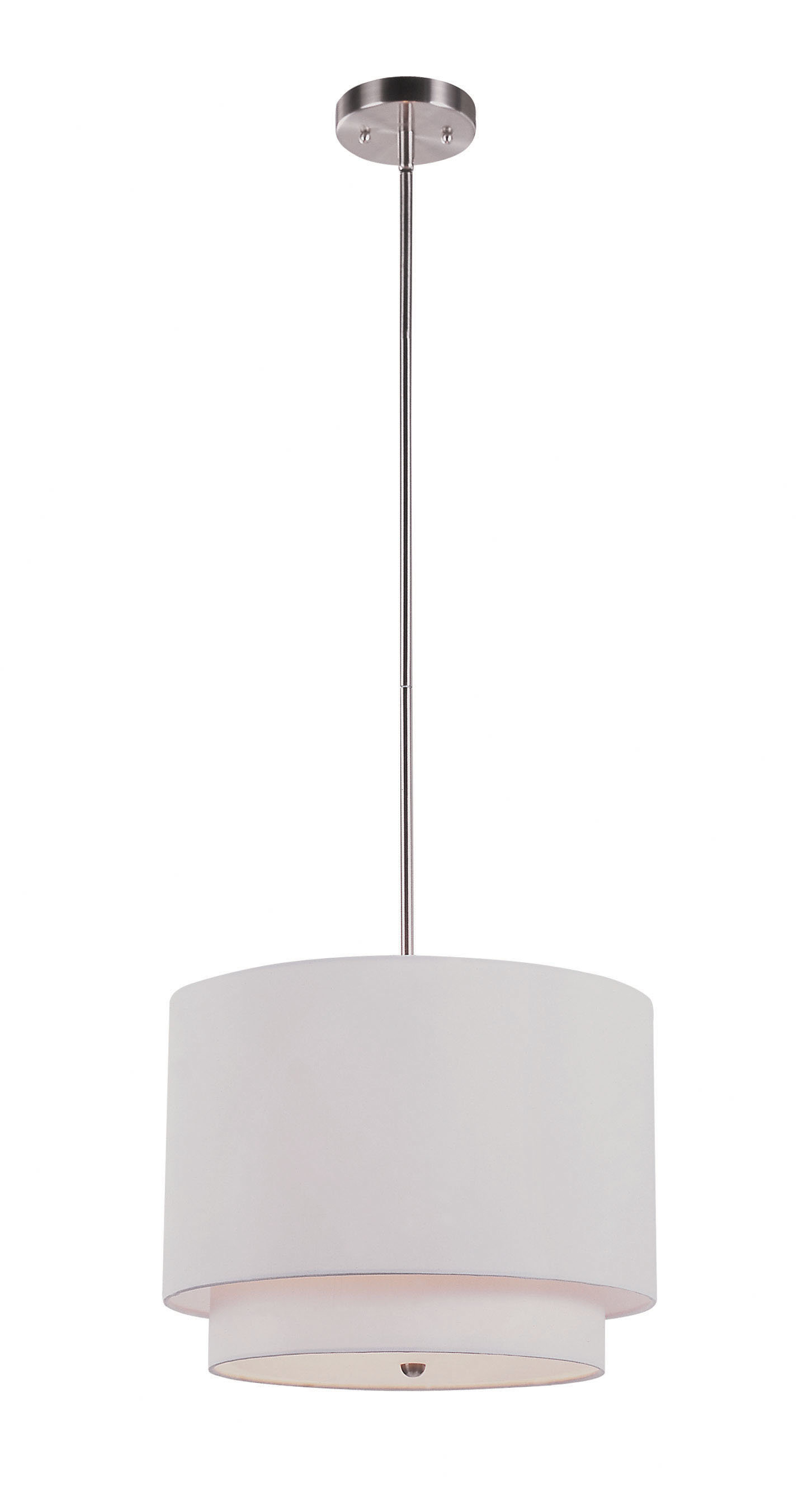 Burslem 3-Light Single Drum Pendant inside Montes 3-Light Drum Chandeliers (Image 3 of 30)