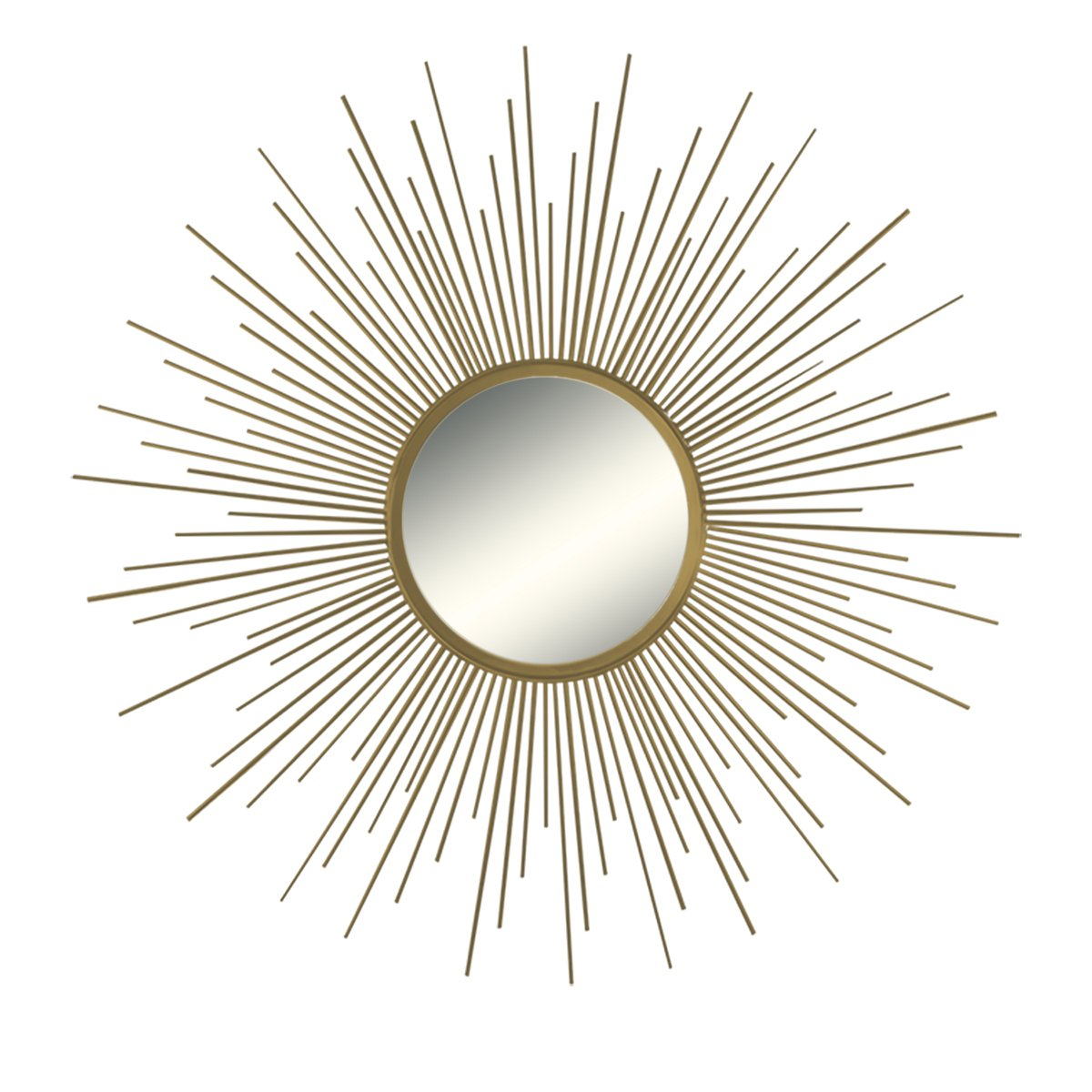Buy Decorative Wall Mirror Round Shape Kentwood Collection for Kentwood Round Wall Mirrors (Image 3 of 30)