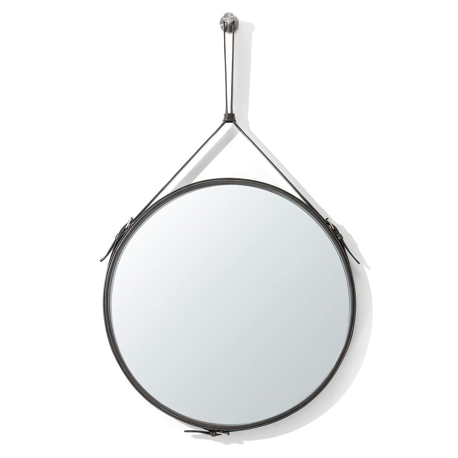 Buy Decorative Wall Mirror Round Shape Kentwood Collection pertaining to Kentwood Round Wall Mirrors (Image 4 of 30)