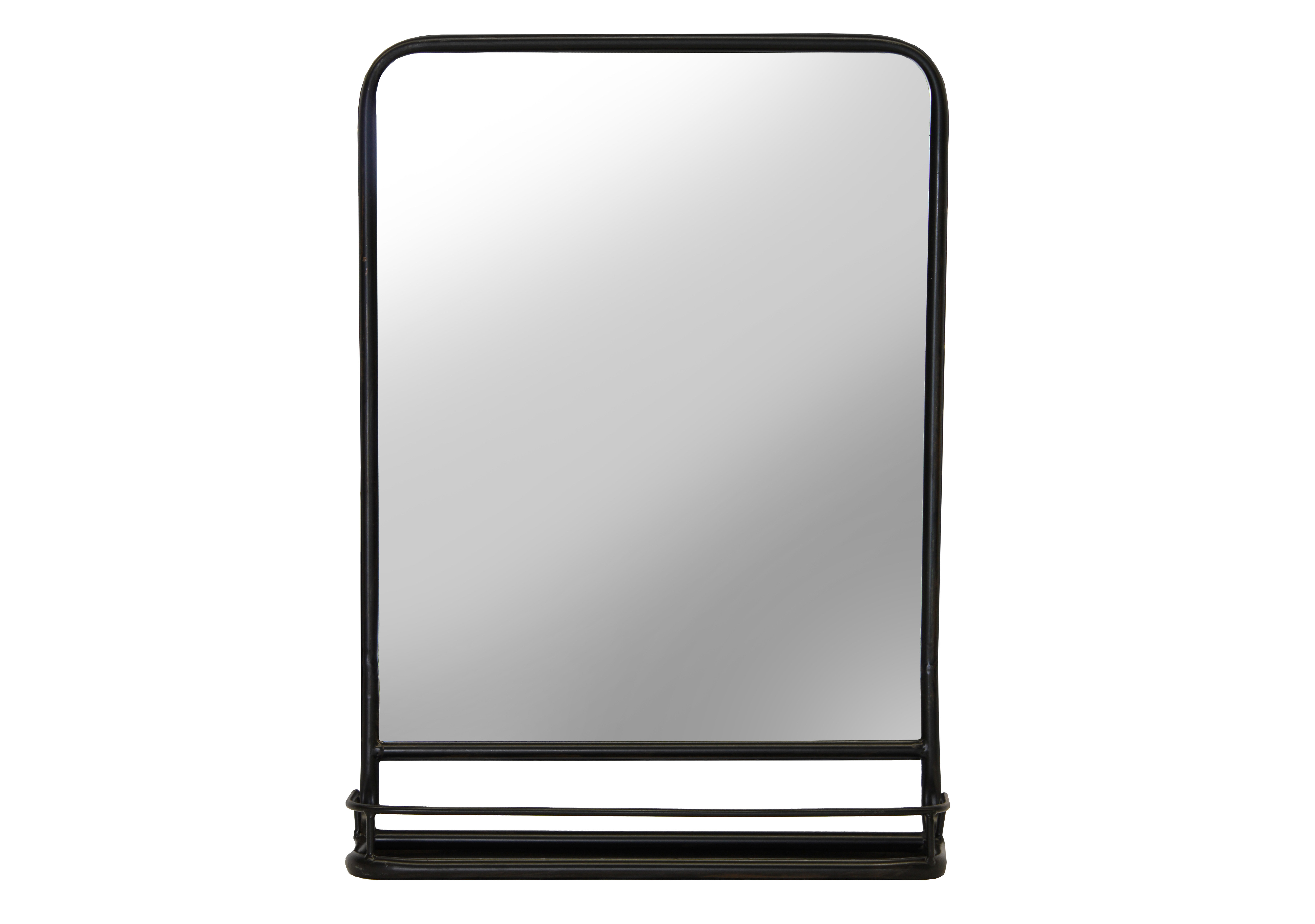 Cadbury Metal Cottage/country Accent Mirror pertaining to Koeller Industrial Metal Wall Mirrors (Image 5 of 30)