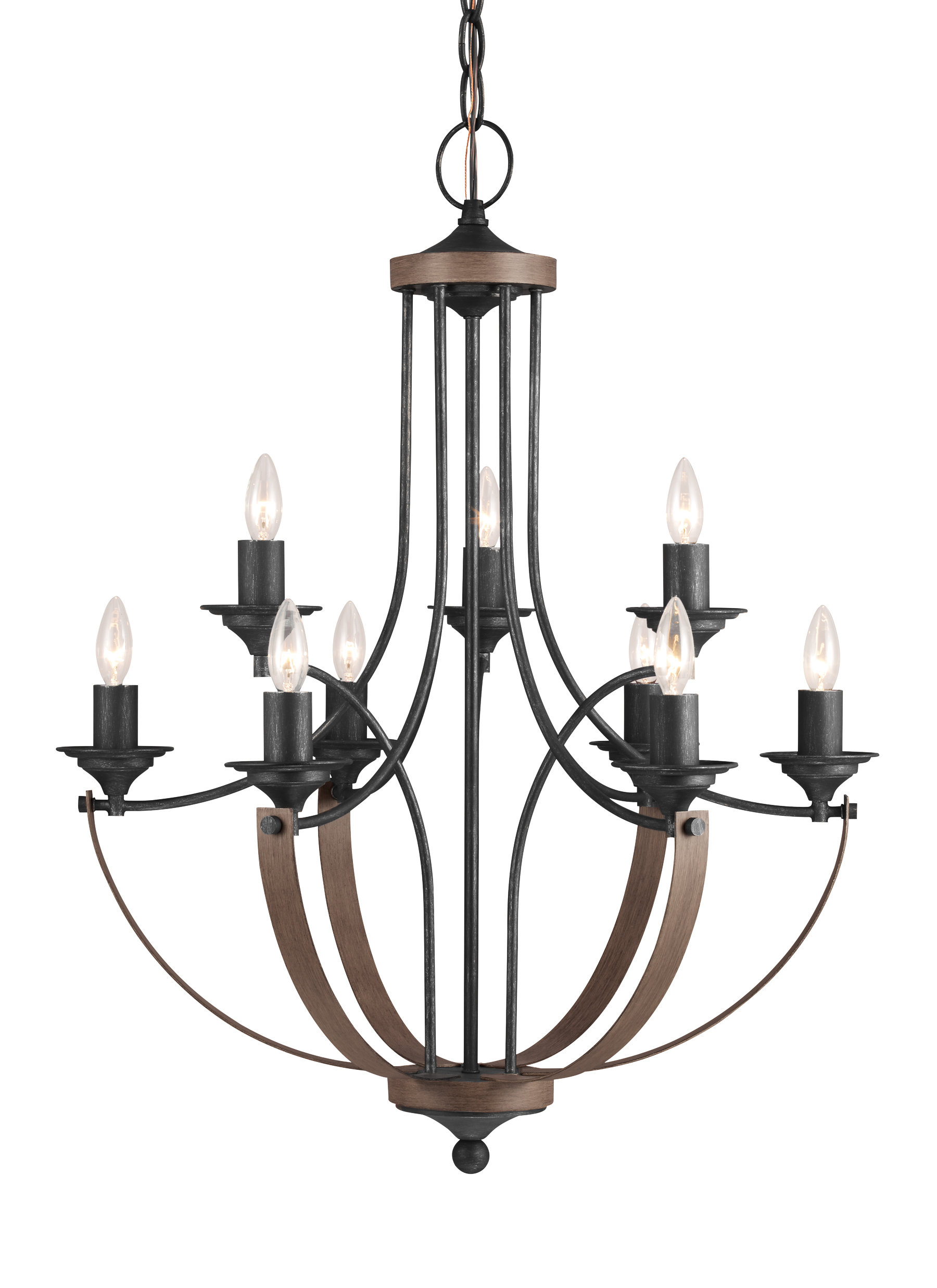 Camilla 9-Light Candle Style Chandelier throughout Camilla 9-Light Candle Style Chandeliers (Image 6 of 30)