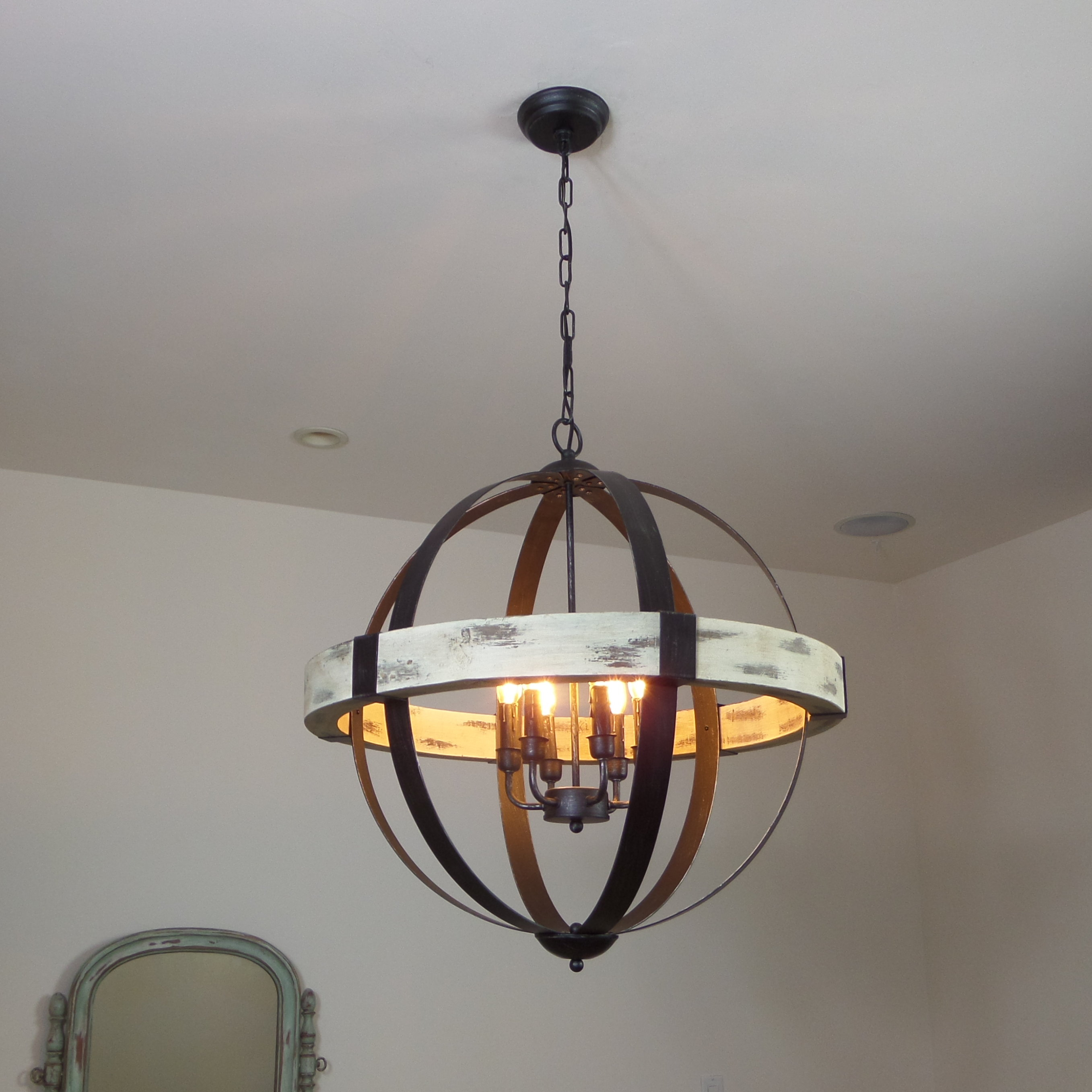 Cannella 6-Light Globe Chandelier intended for Donna 6-Light Globe Chandeliers (Image 3 of 30)
