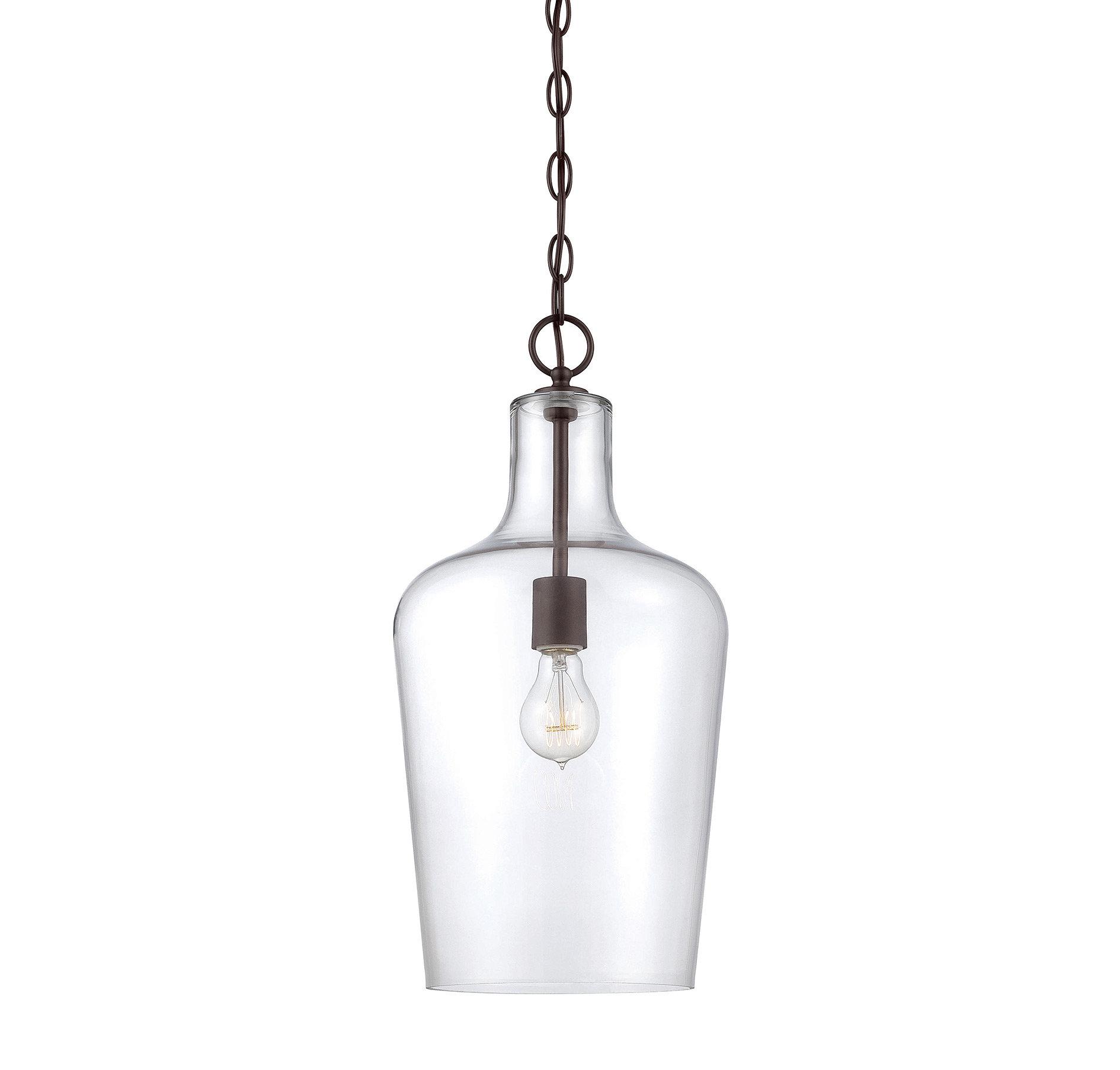 Carey 1 Light Single Bell Pendant Pertaining To Carey 1 Light Single Bell Pendants (View 11 of 30)