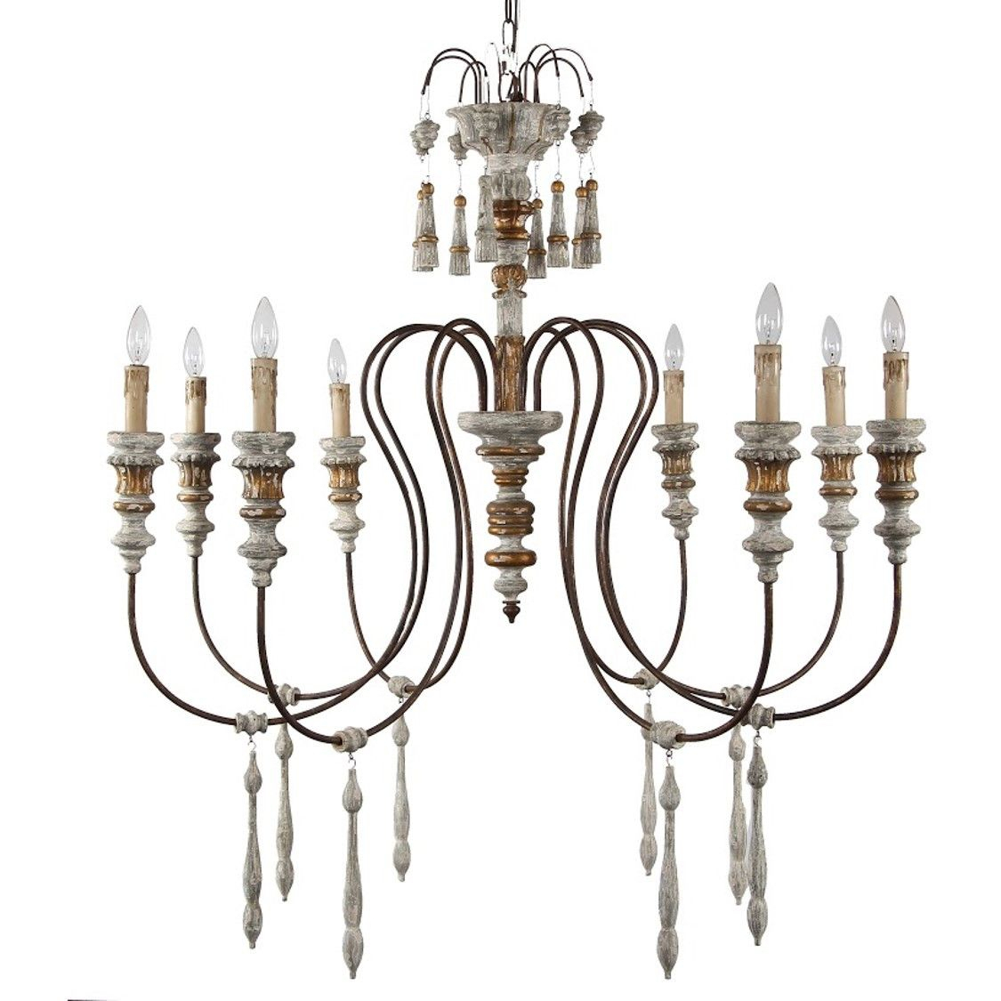 Carlotta 8 Light Chandelier | Lighting I Love | Chandelier In Armande Candle Style Chandeliers (Image 15 of 30)