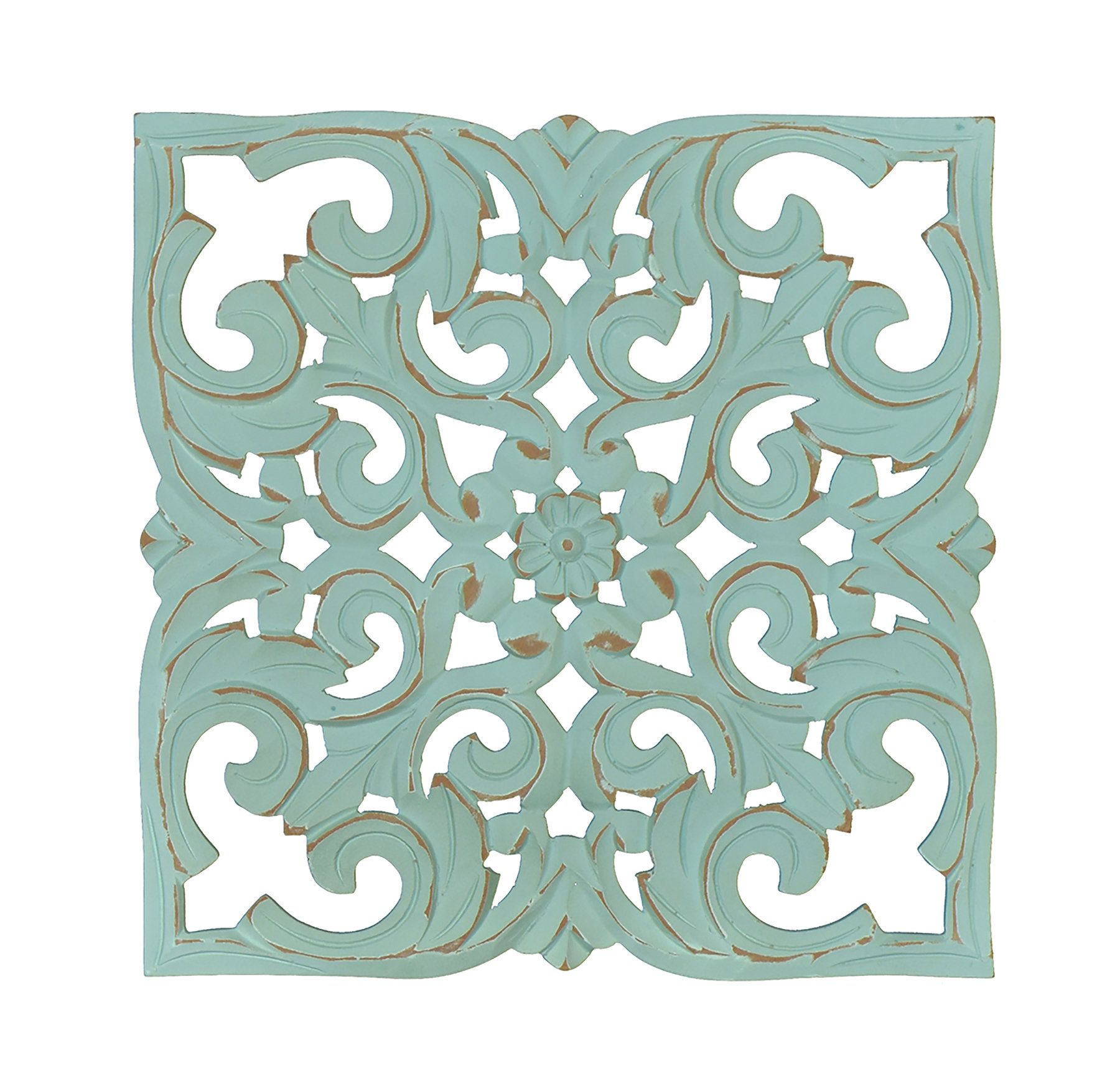 Carved Medallion Wall Décor Pertaining To Rioux Birds On A Wire Wall Decor (View 12 of 30)