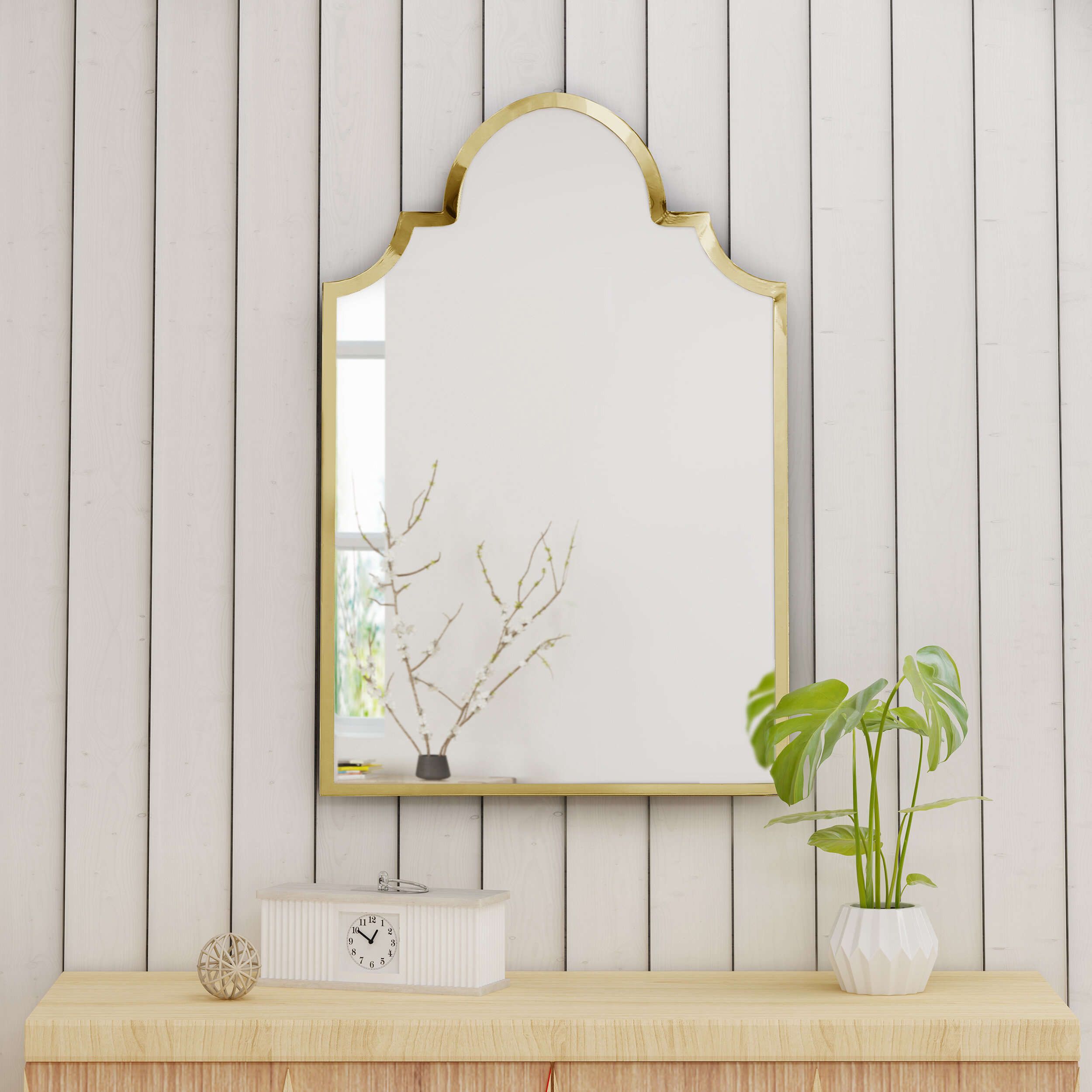 Cassel Modern & Contemporary Accent Mirror With Regard To Guidinha Modern & Contemporary Accent Mirrors (View 4 of 30)