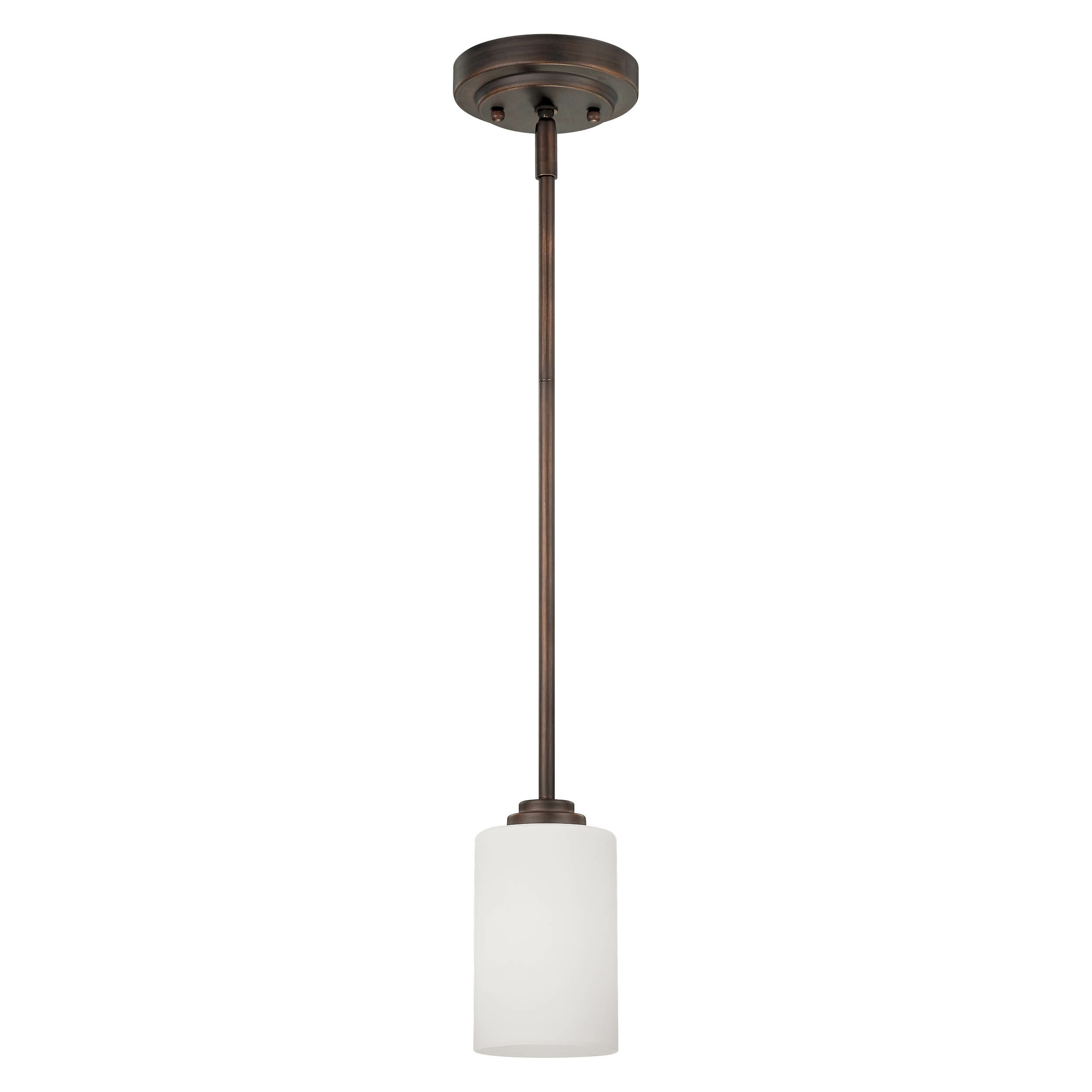 Castano 1 Light Single Cylinder Pendant Regarding Erico 1 Light Single Bell Pendants (View 21 of 30)