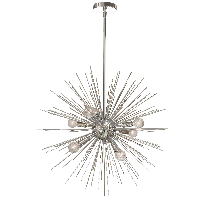 Celvin Charboneau 8 Light Sputnik Chandelier For Nelly 12 Light Sputnik Chandeliers (View 22 of 30)