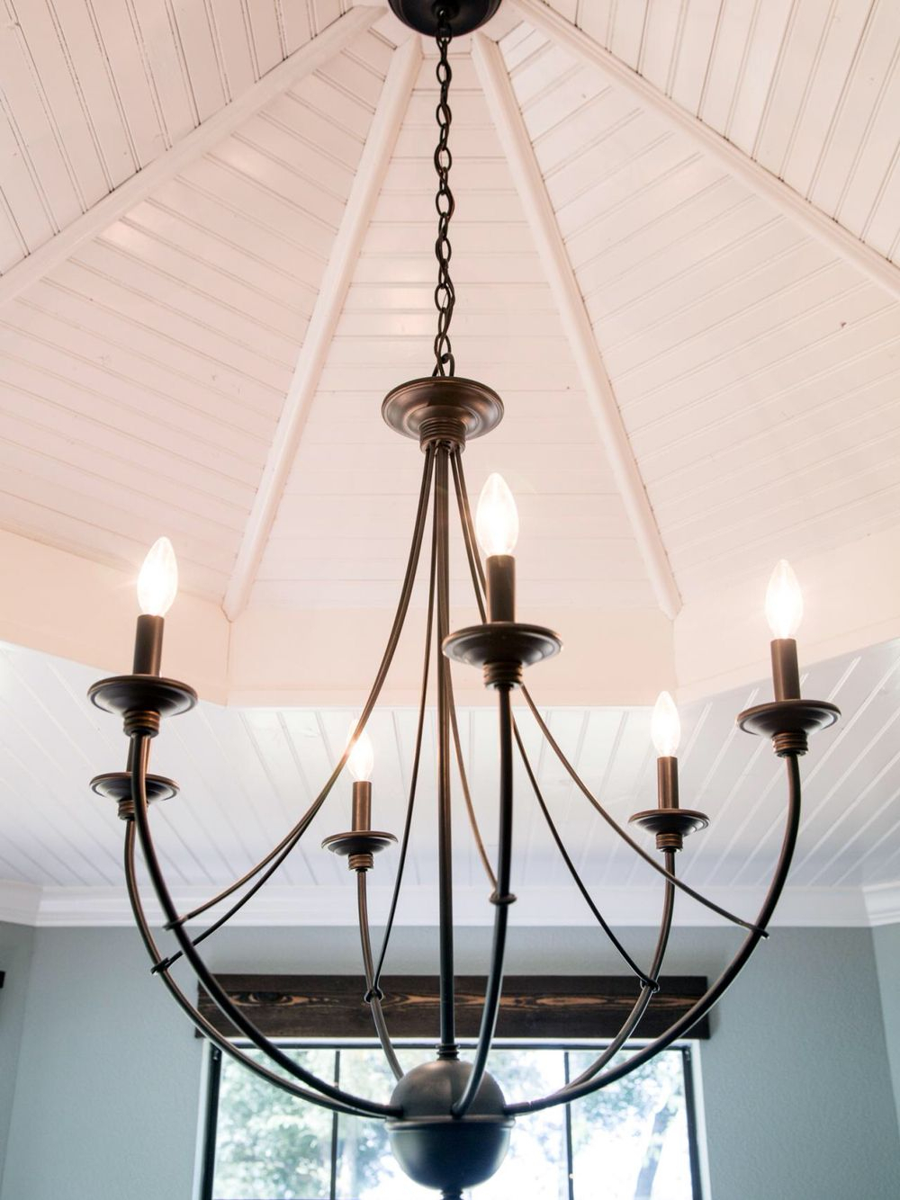 Chandelier From Fixer Upper For Entryway | Magnolia Farms With Gaines 9 Light Candle Style Chandeliers (View 22 of 30)