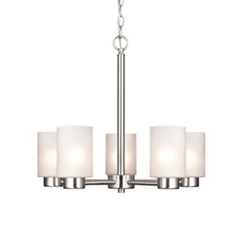 Chandeliers – The Home Depot For Newent 5 Light Shaded Chandeliers (View 17 of 30)