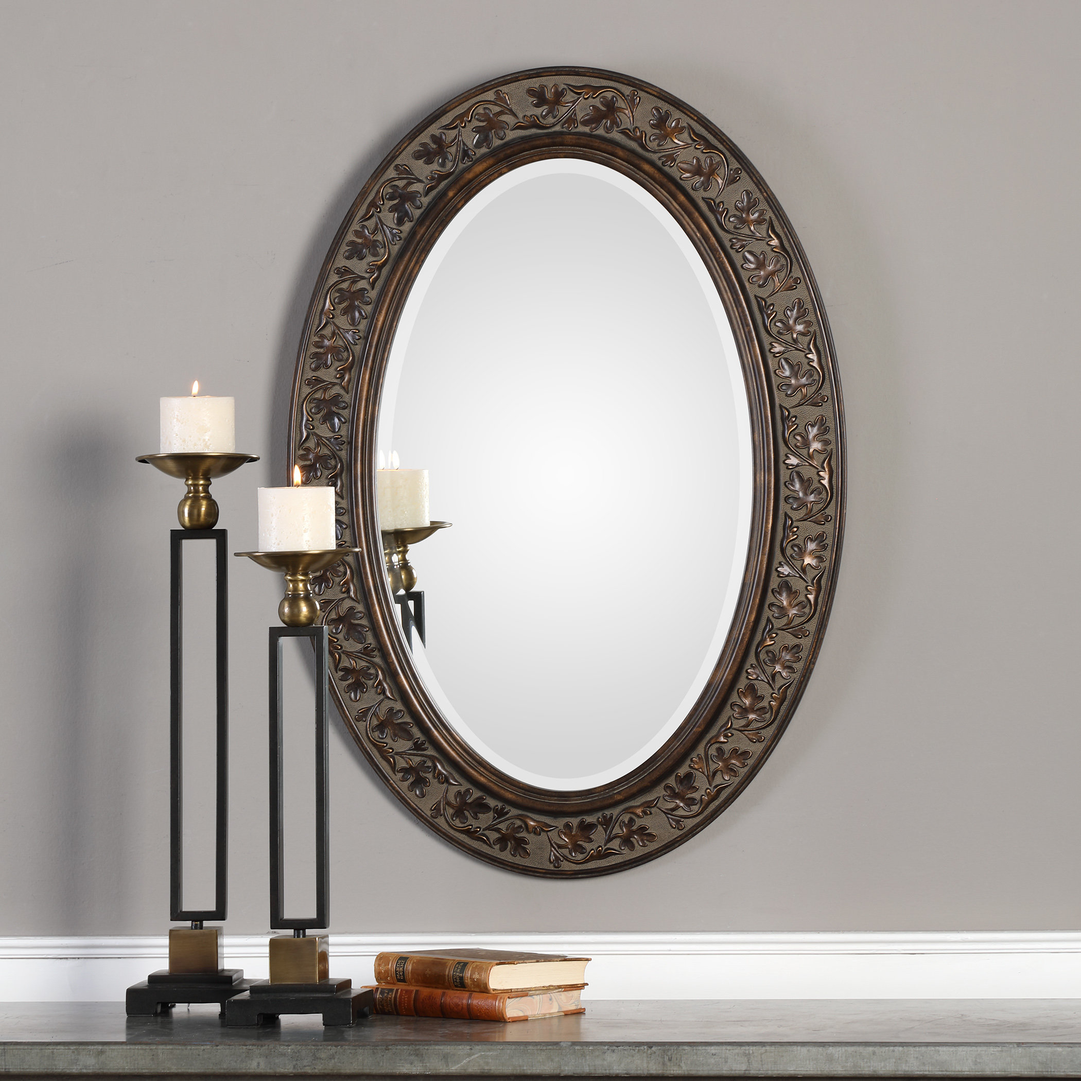 Charland Beveled Accent Mirror With Alie Traditional Beveled Distressed Accent Mirrors (Image 10 of 30)