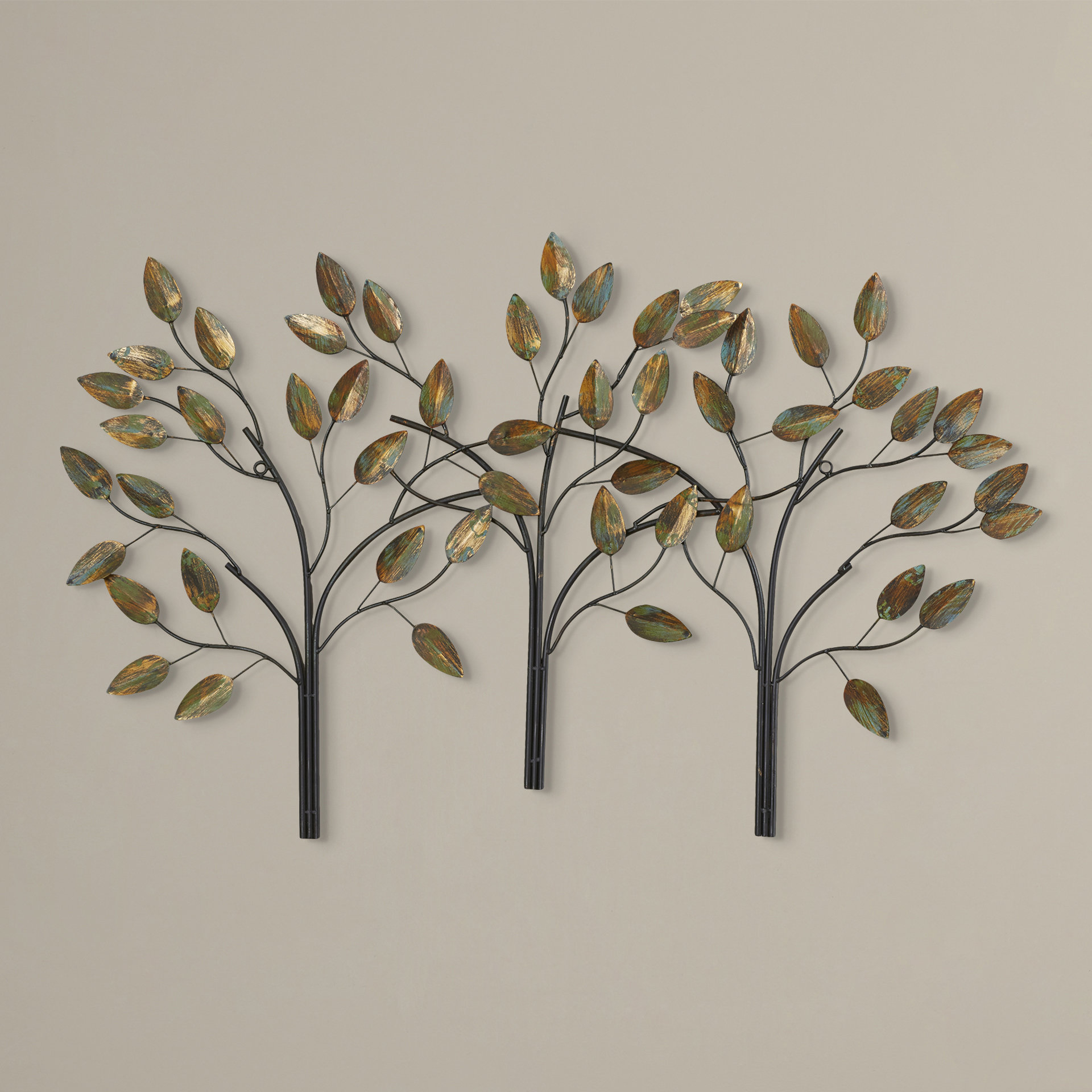 Charlton Home Desford Leaf Wall Décor & Reviews | Wayfair Within Wall Decor By Charlton Home (View 4 of 30)
