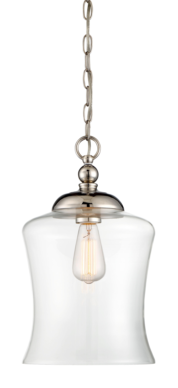 Charlton Home Wentzville 1 Light Single Bell Pendant Inside Carey 1 Light Single Bell Pendants (View 14 of 30)